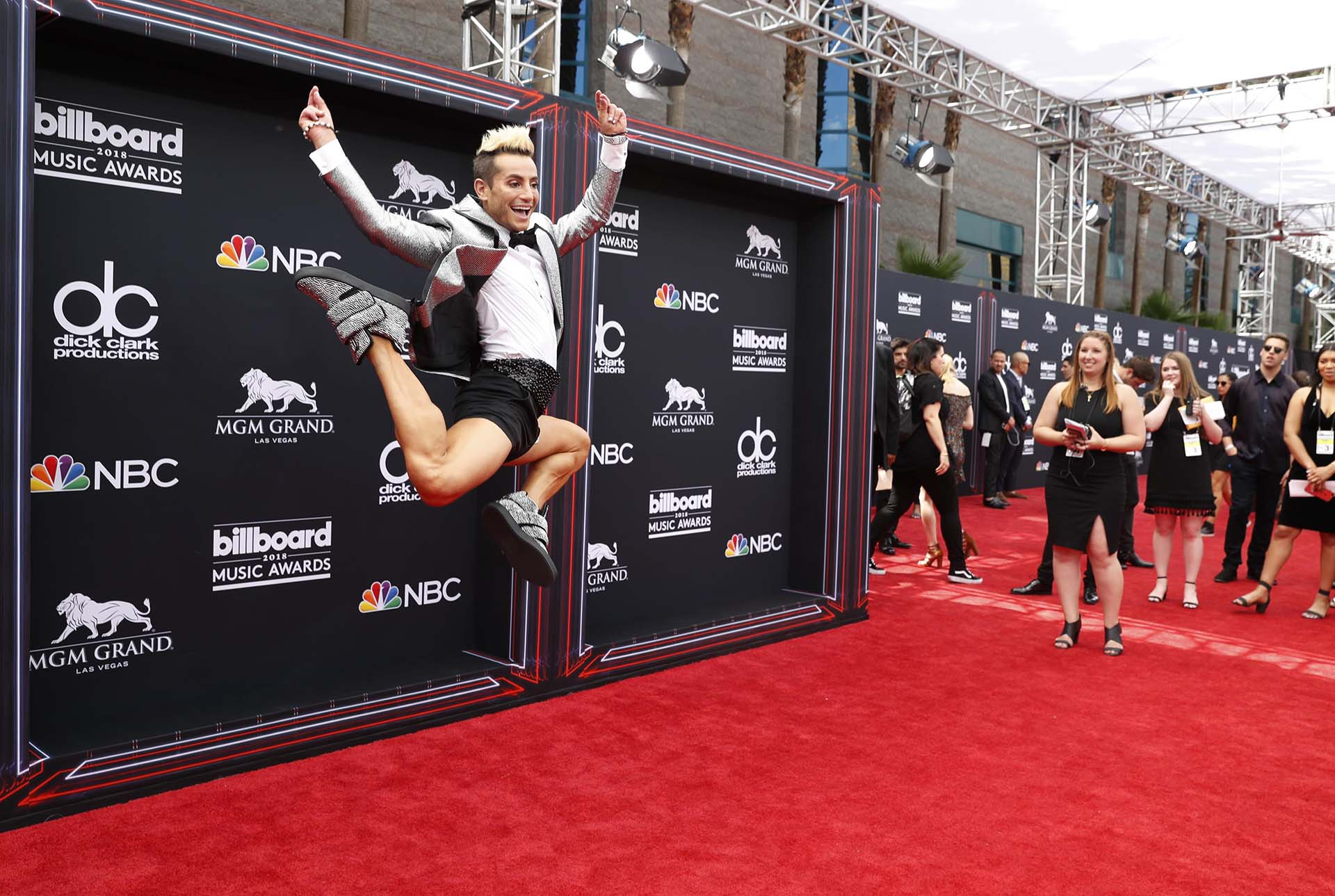 2018 Billboard Music Awards – Arrivals – Las Vegas, Nevada, U.S., 20/05/2018 – Frankie J. Grande. REUTERS/Steve Marcus
