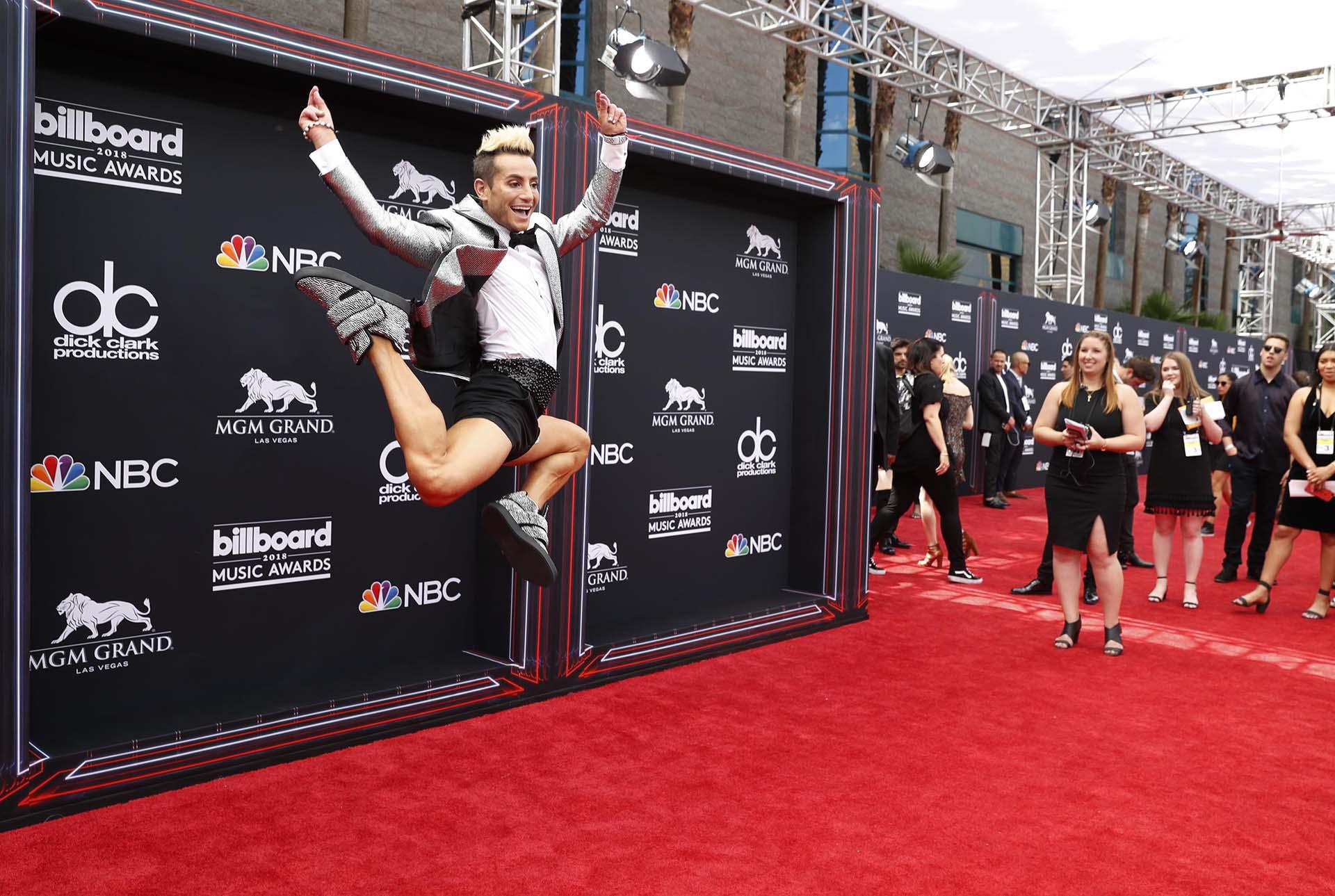 2018 Billboard Music Awards – Arrivals – Las Vegas, Nevada, U.S., 20/05/2018 – Frankie J. Grande. REUTERS/Steve Marcus