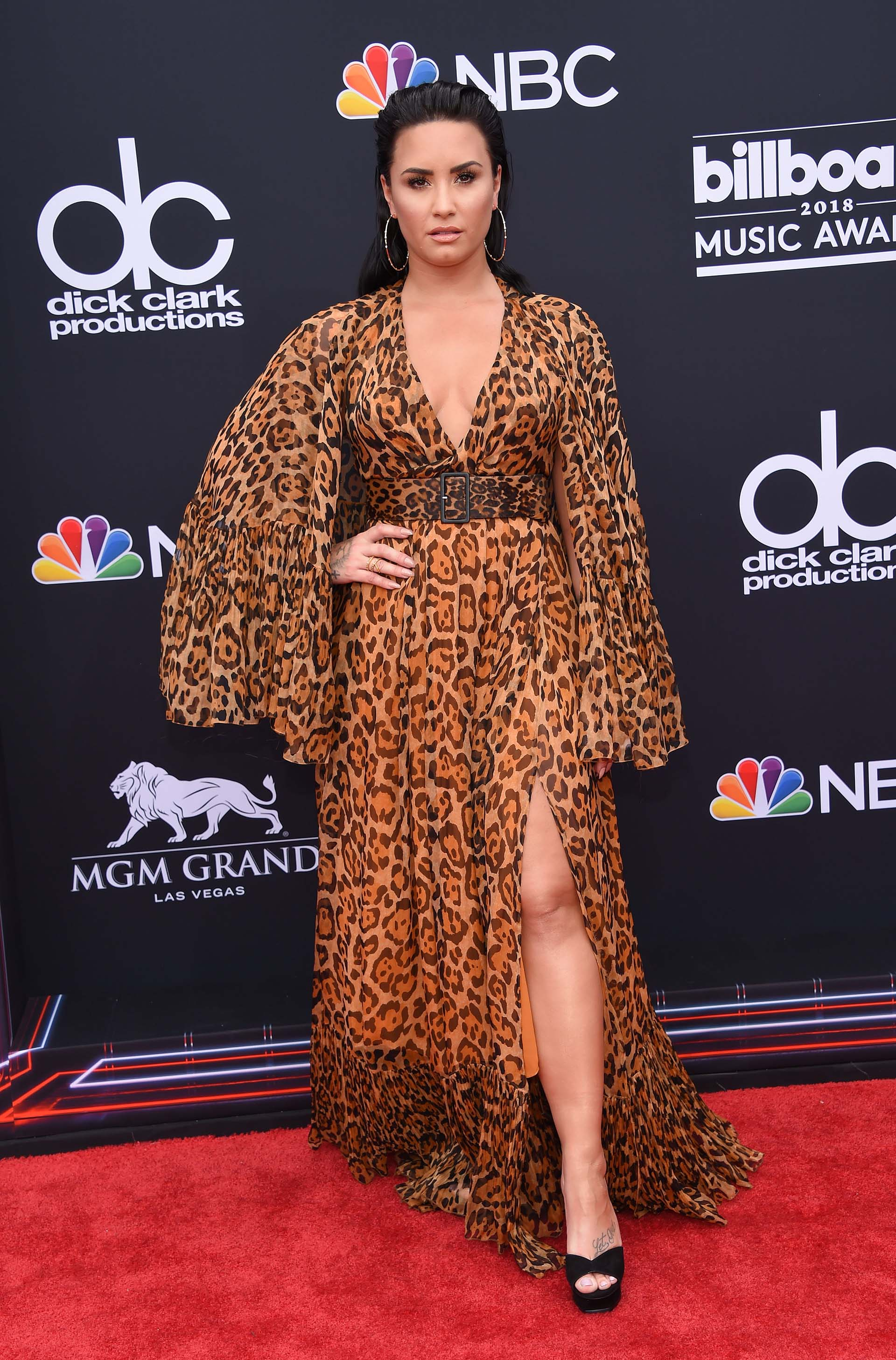 Demi Lovato (AFP PHOTO / LISA O'CONNOR)