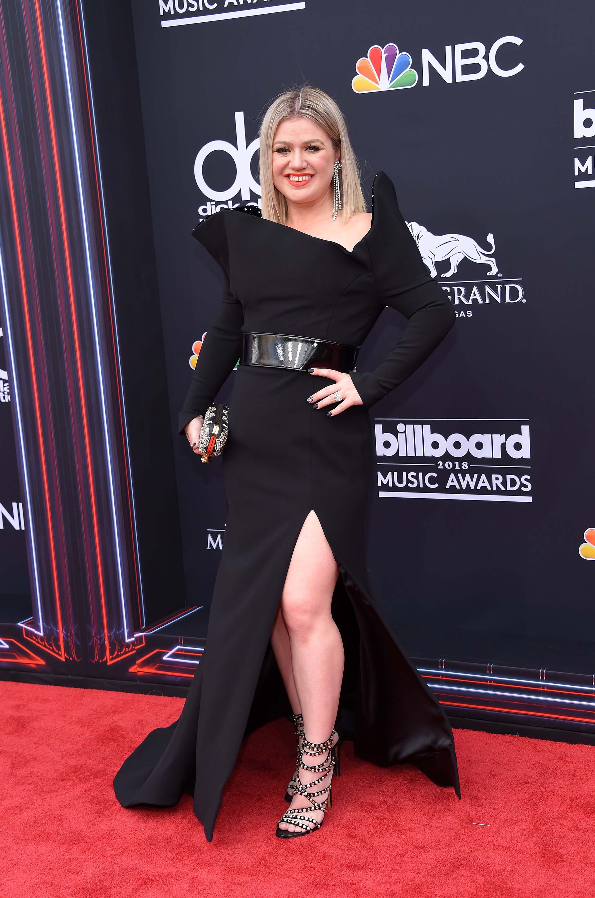 Kelly Clarkson (AFP PHOTO / LISA O'CONNOR)