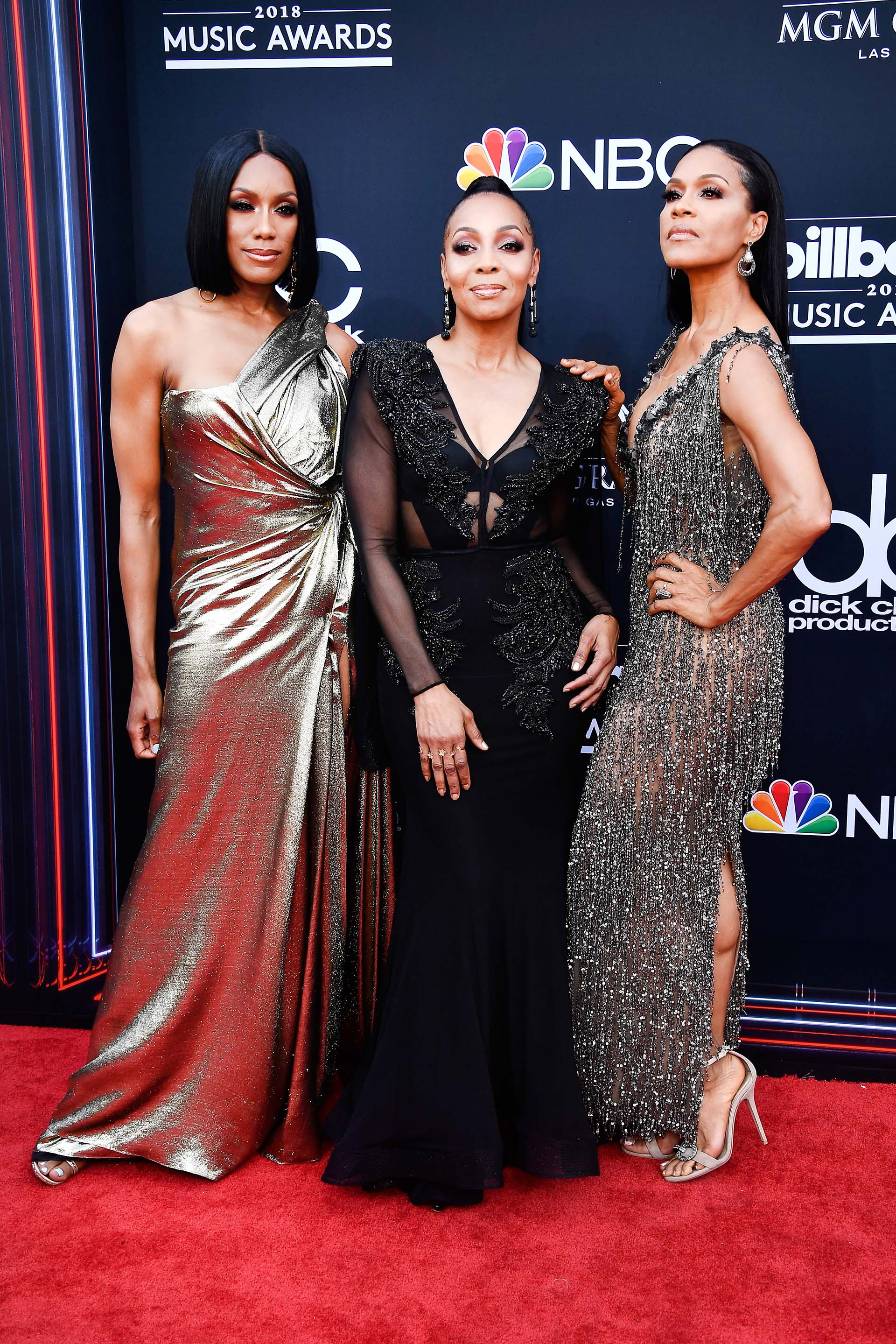 Rhona Bennett, Terry Ellis y Cindy Herron (Frazer Harrison/Getty Images/AFP)