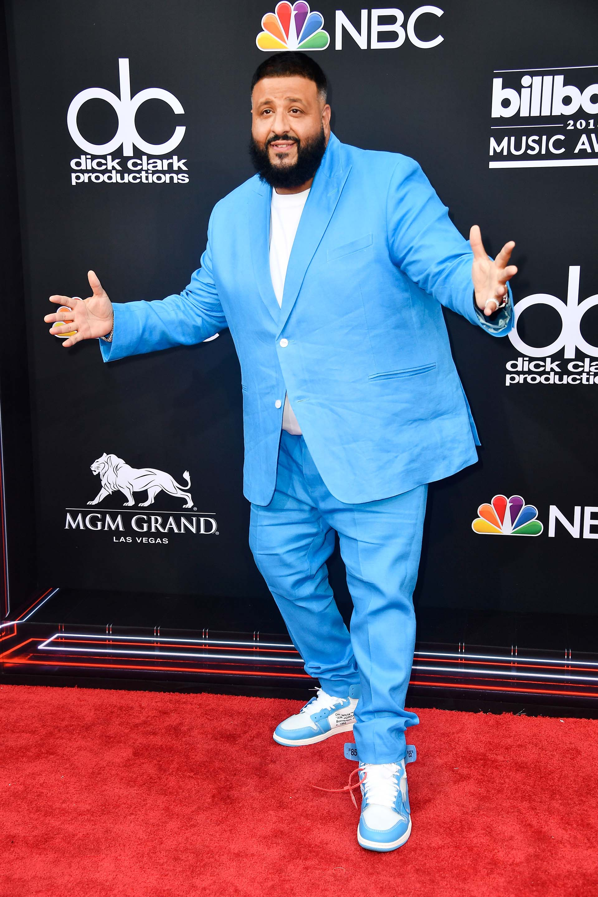 DJ Khaled (Frazer Harrison/Getty Images/AFP)
