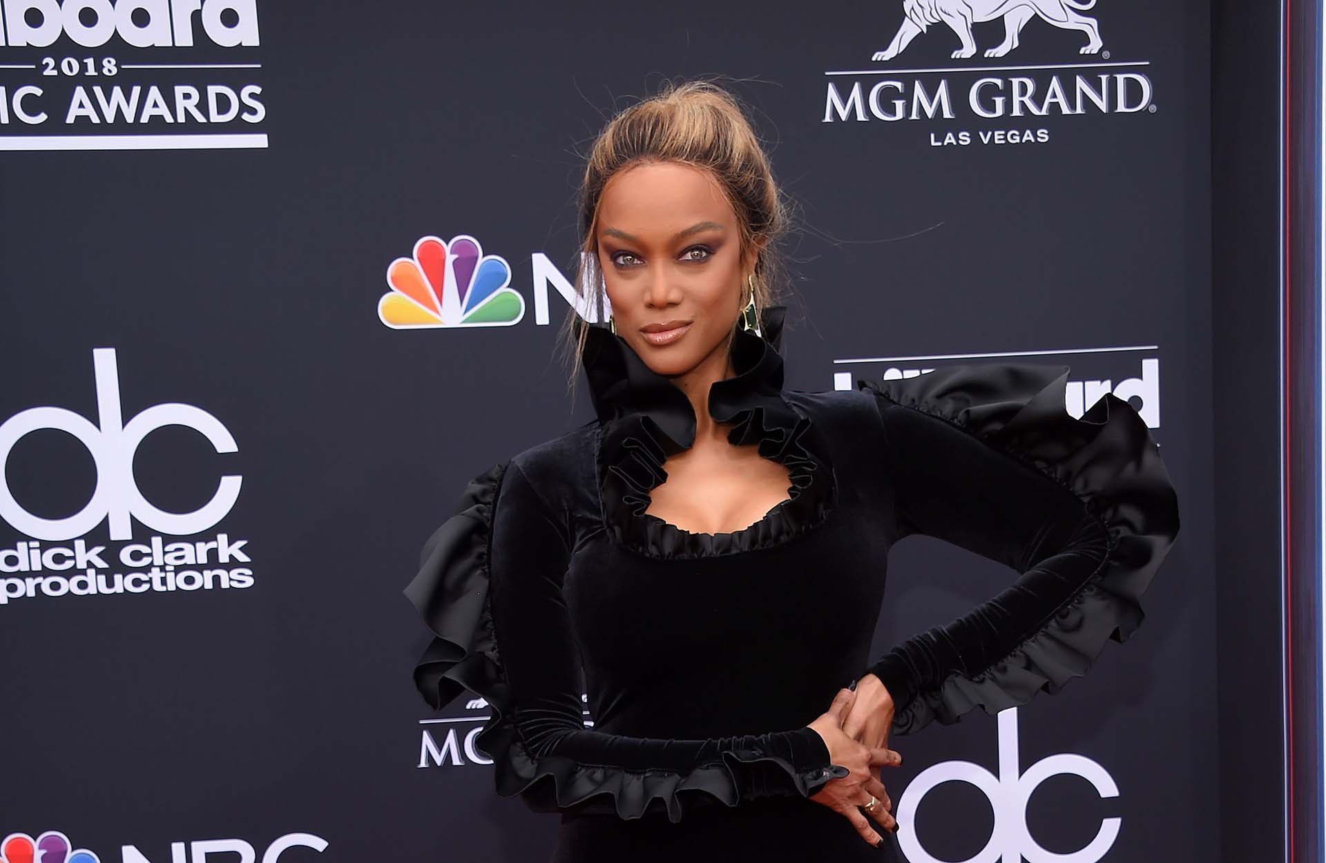 Tyra Banks (AFP PHOTO / LISA O'CONNOR)