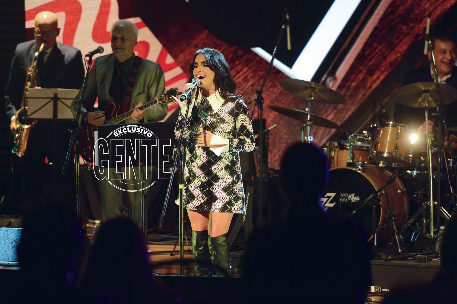 Lali Espósito en el escenario.