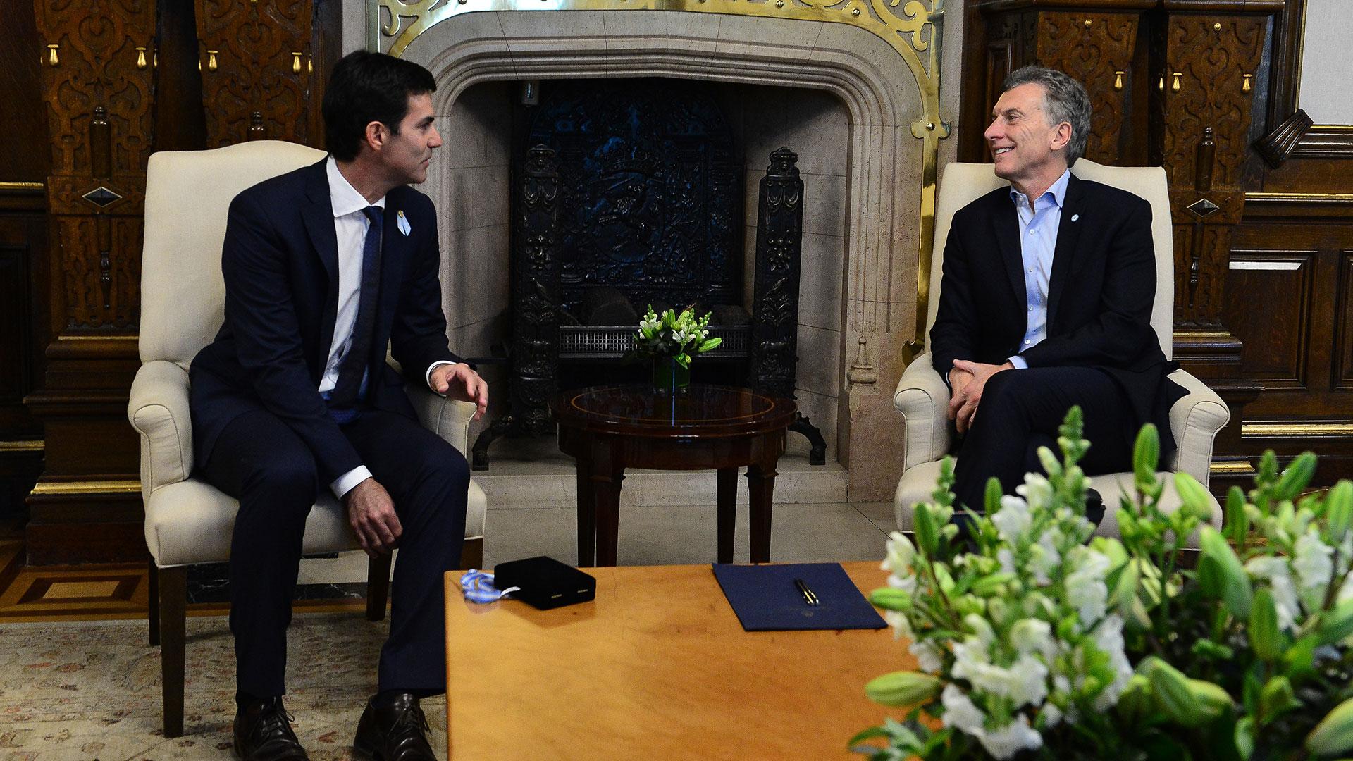 Juan Manuel Urtubey junto a Mauricio Macri