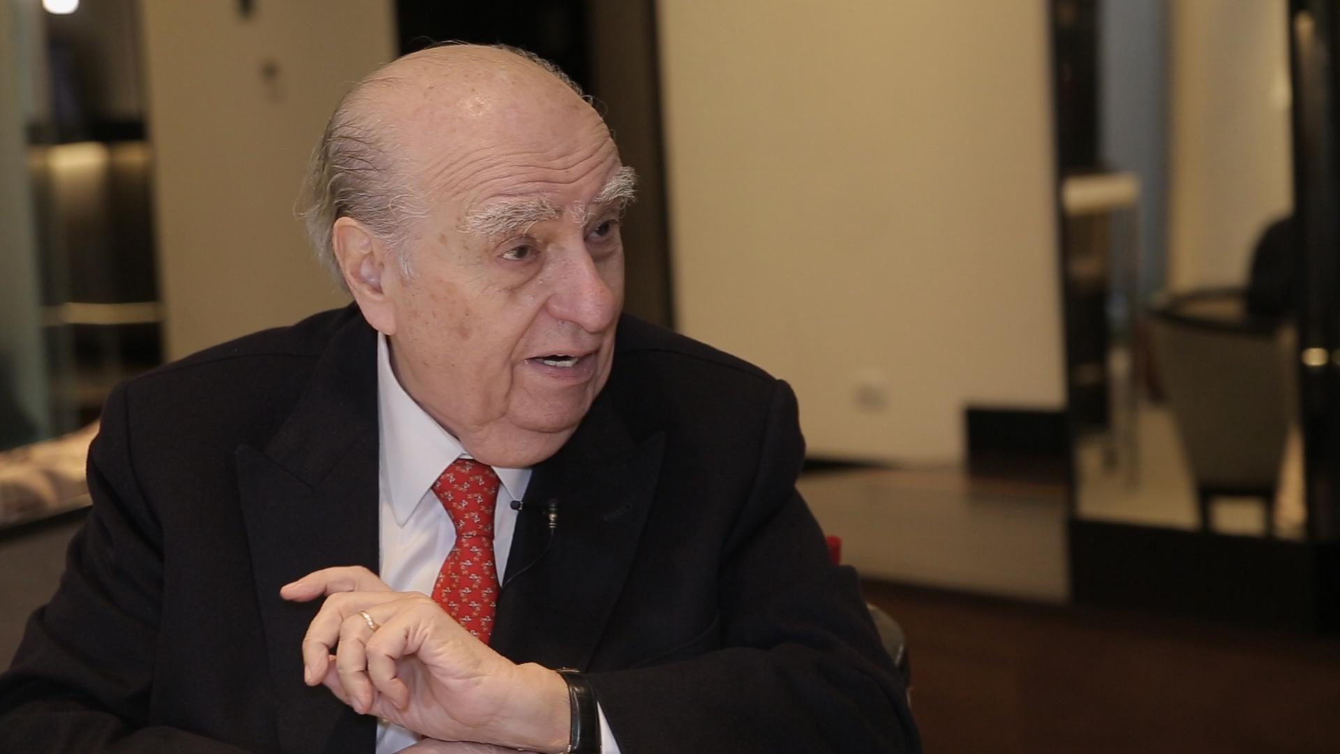 Julio María Sanguinetti, ex presidente de Uruguay