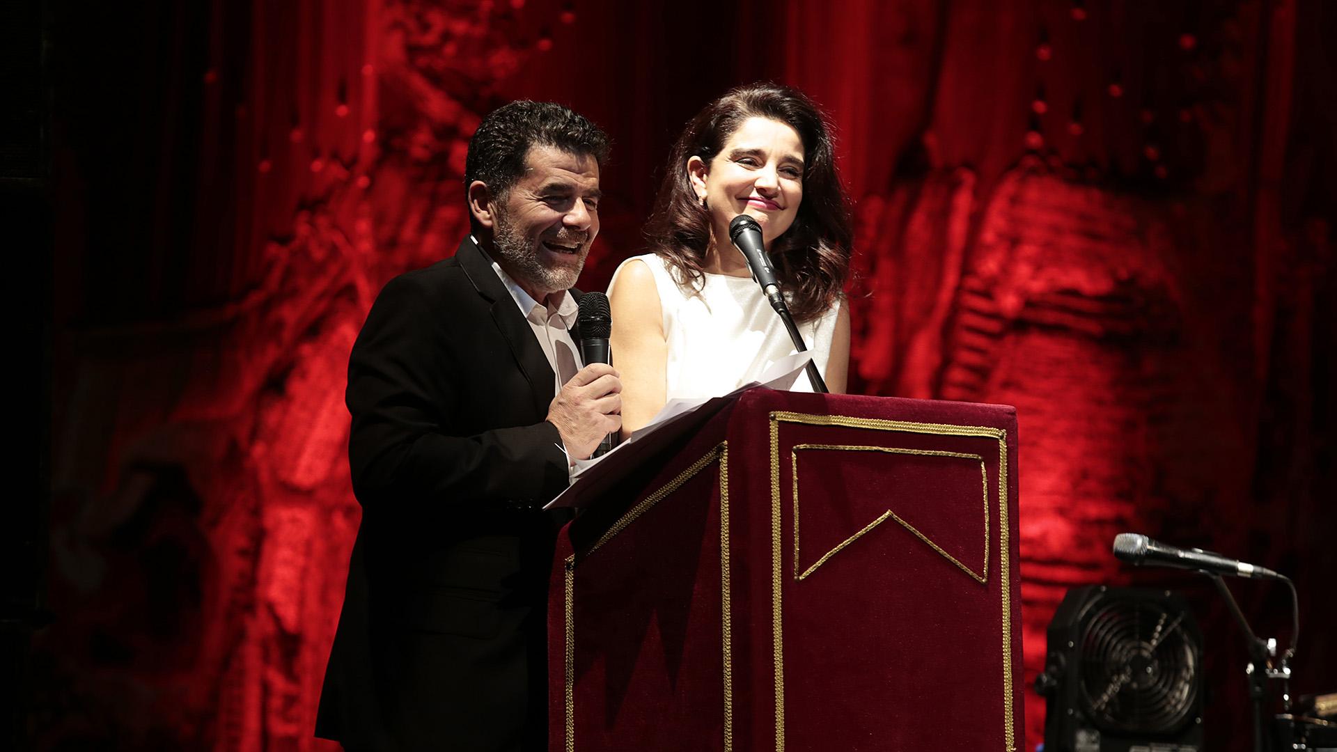 Julián Weich y Verónica Varano a cargo de la conducción de la gala