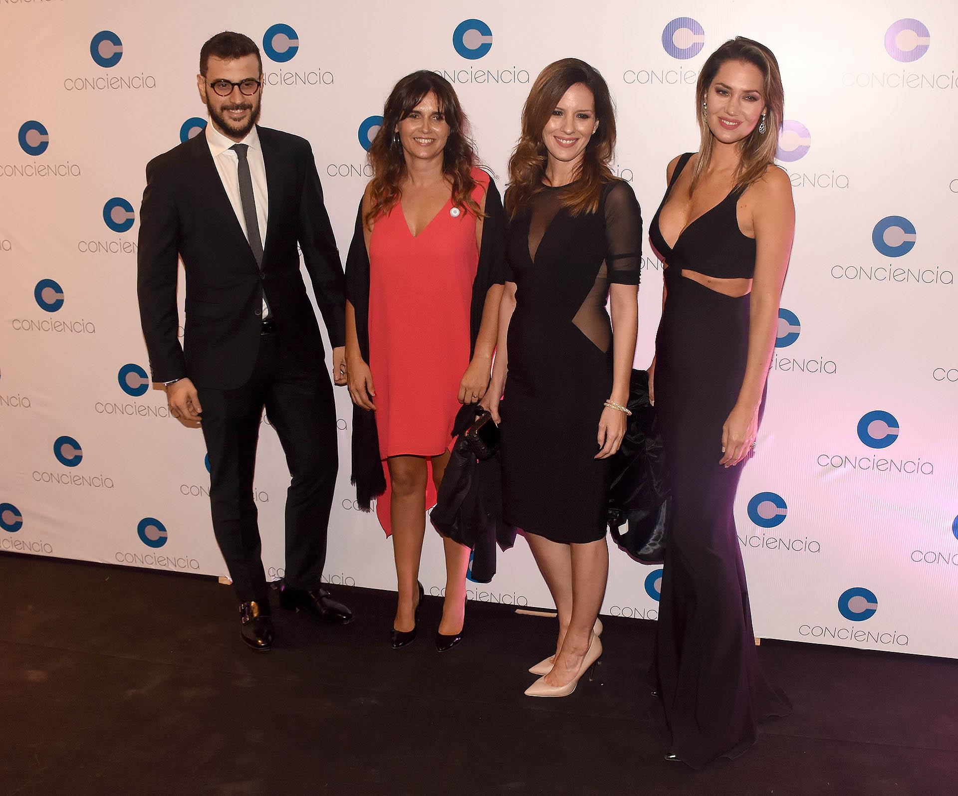 Diego Leuco, Beby Lacroze, Soledad Larghi y Carolina Losada