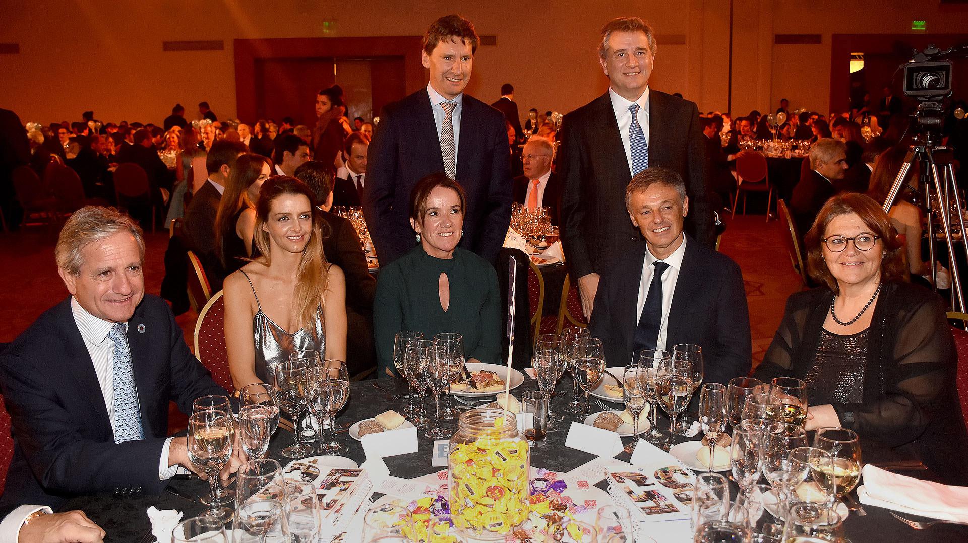 Andrés Ibarra, Josefina Maxit, Francisco Cabrera, Claudio Maulhardt y Luis Miguel Etchevehere
