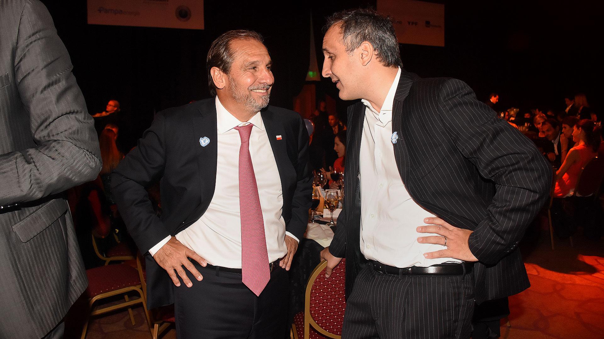 Nicolás Caputo y Marcos Bulgheroni