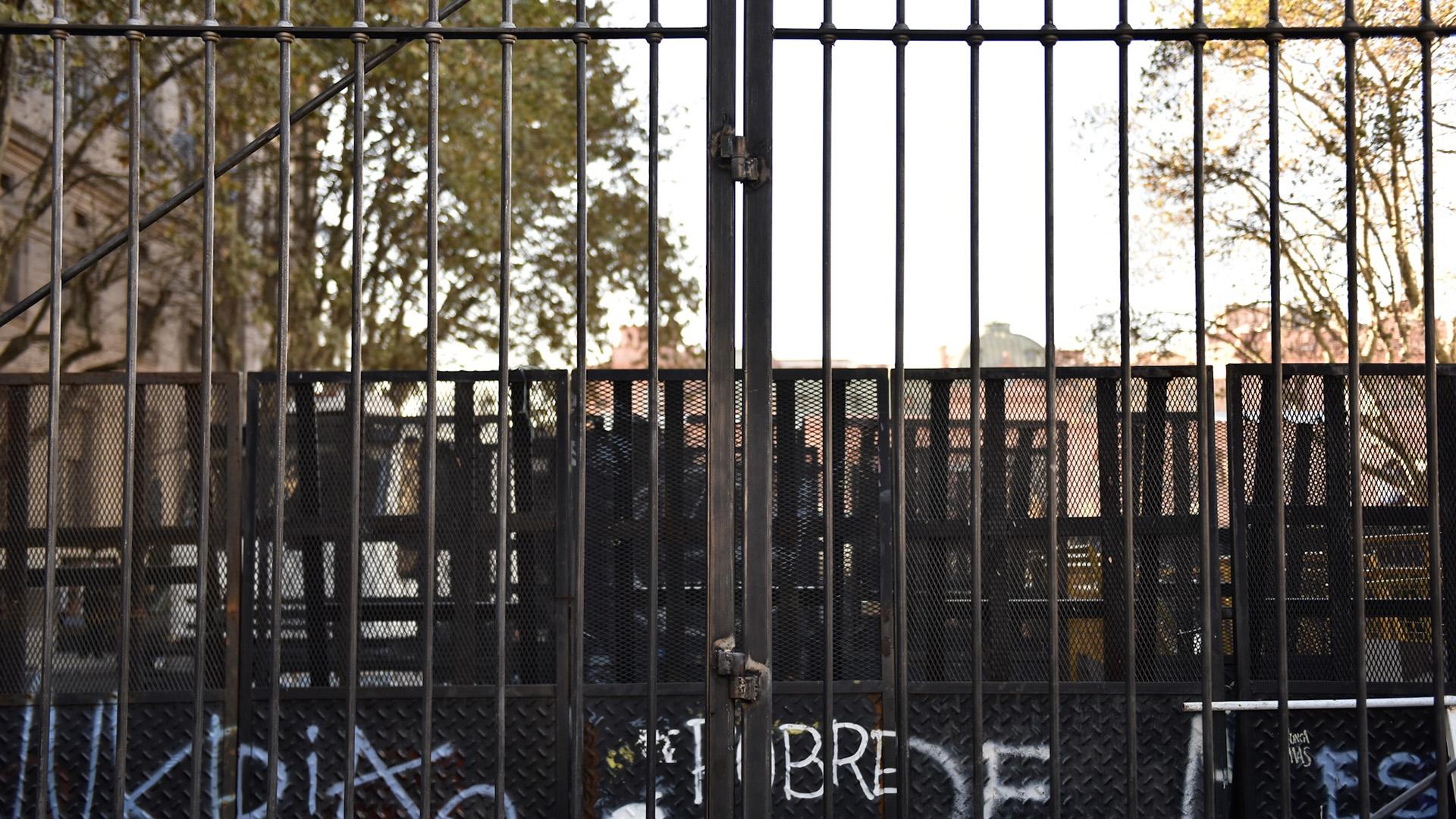 Las vallas antidisturbios ya no formarán parte del paisaje de la Plaza de Mayo