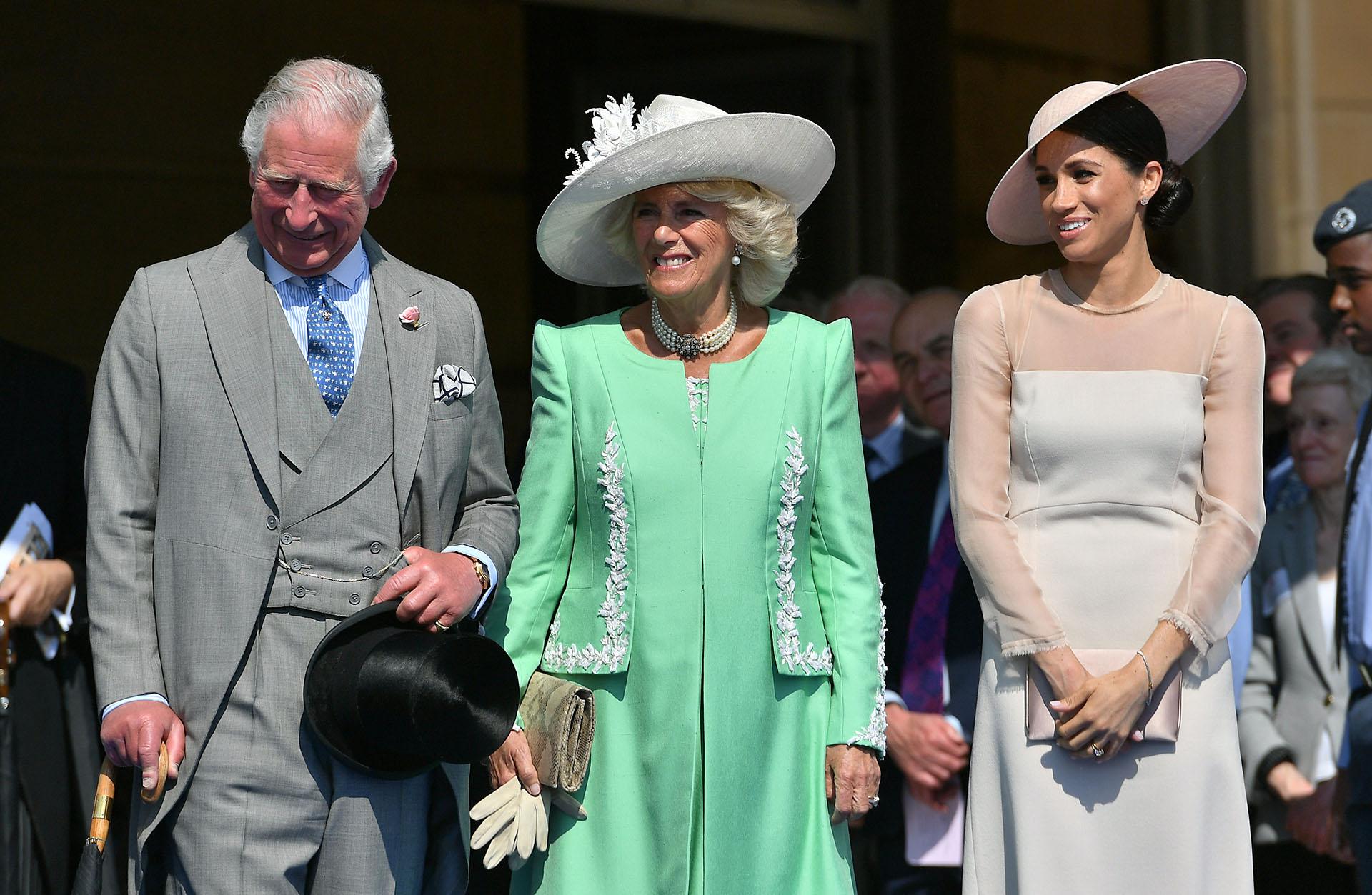 Al tratarse del primer acto público acaparó la escena, aunque se trataba de una celebración para el príncipe Carlos