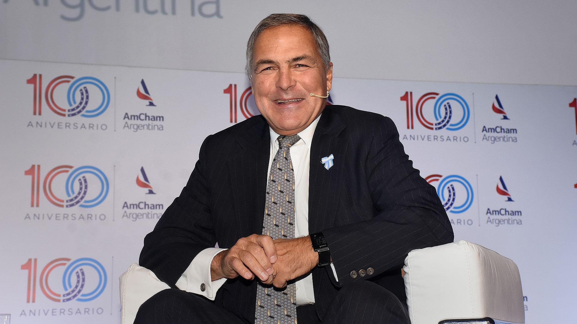El presidente de AmCham Argentina, Manuel Aguirre