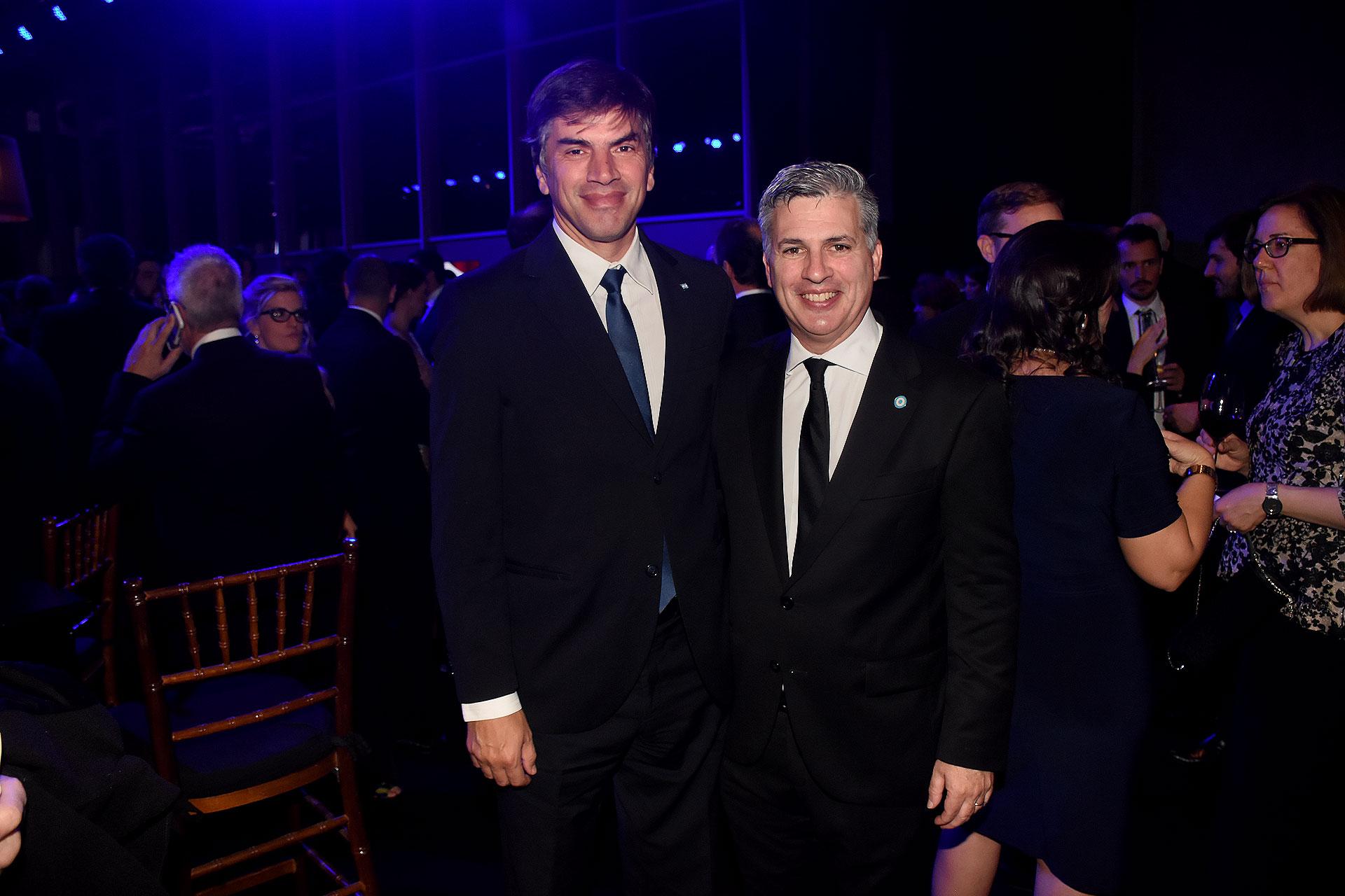 Horacio Reyser y Marcelo Scaglione