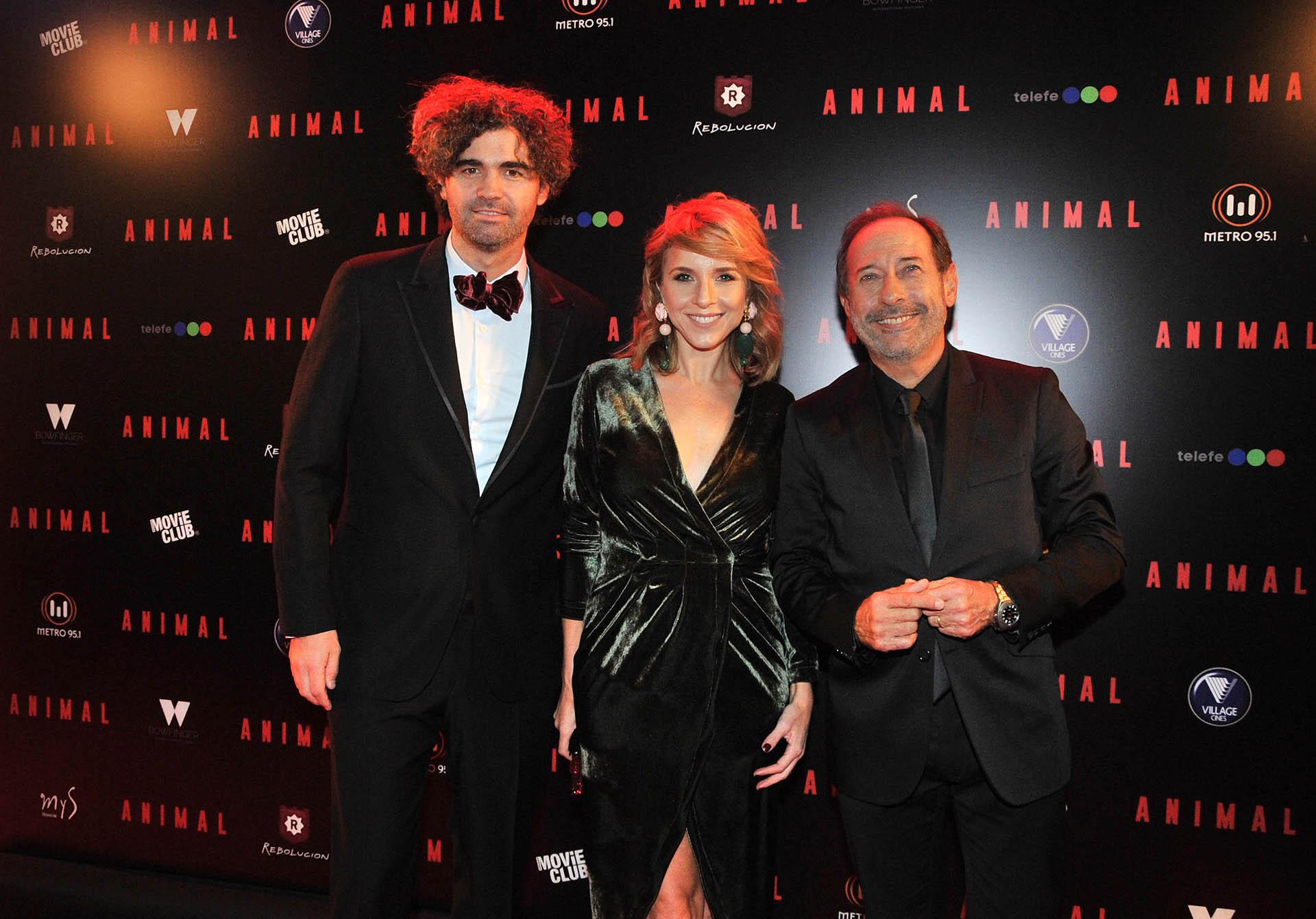 Armando Bo, Carla Peterson y Guillermo Francella (Verónica Guerman / Teleshow)