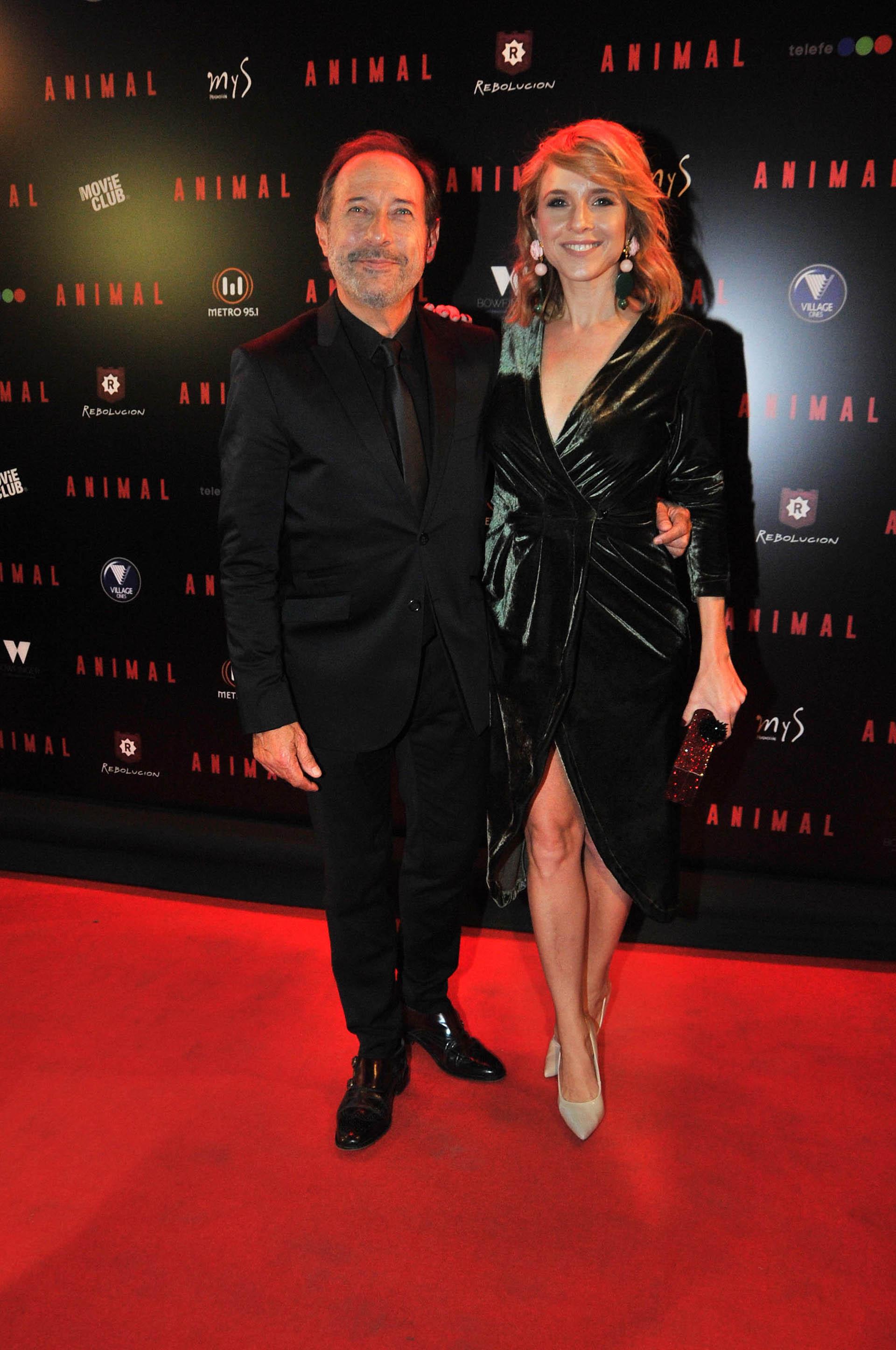 Guillermo Francella y Carla Peterson (Verónica Guerman / Teleshow)