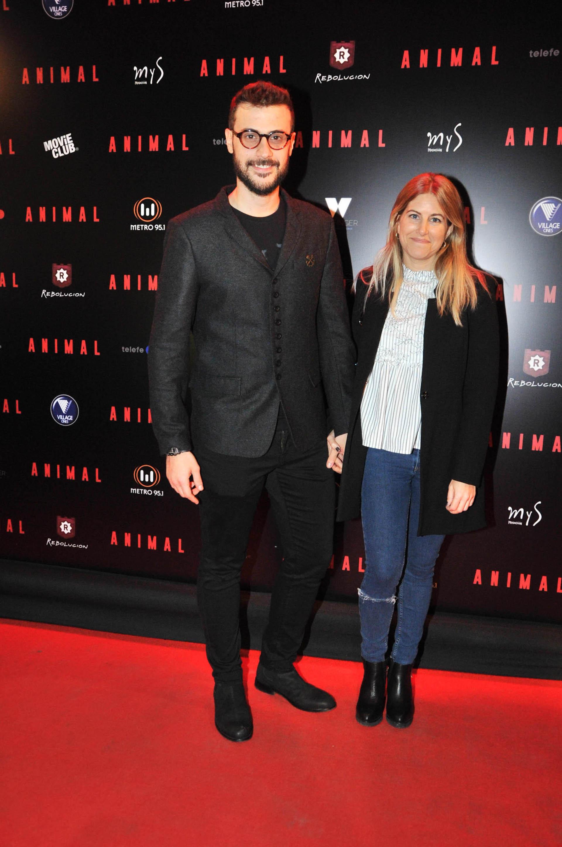Diego Leuco y su novia (Verónica Guerman / Teleshow)
