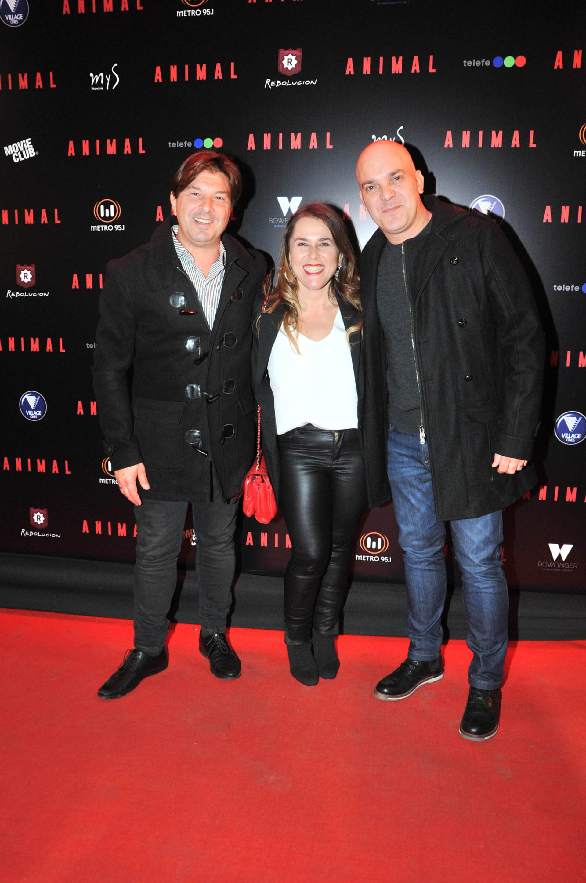 Damian de Santo, Malena Guinzburg y Santiago Giorgini (Verónica Guerman / Teleshow)