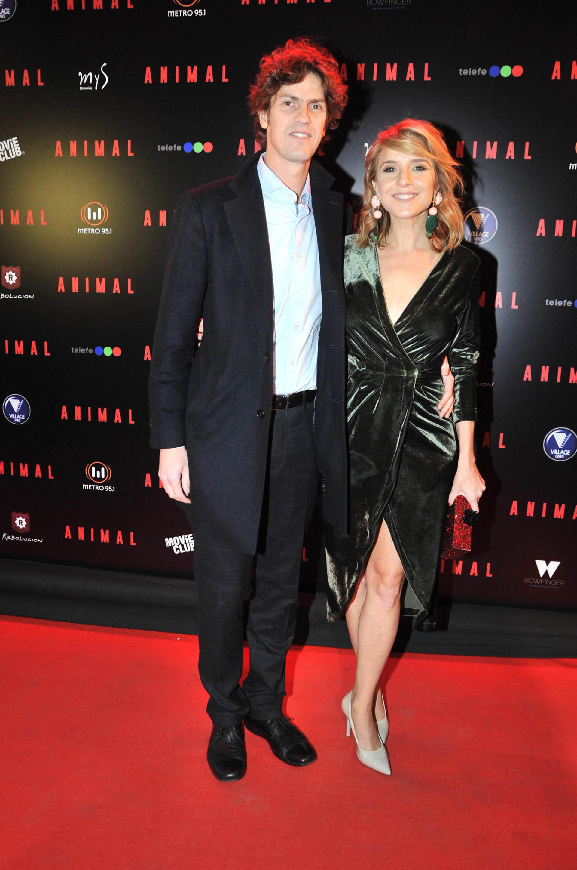 Martín Lousteau y Carla Peterson (Verónica Guerman / Teleshow)
