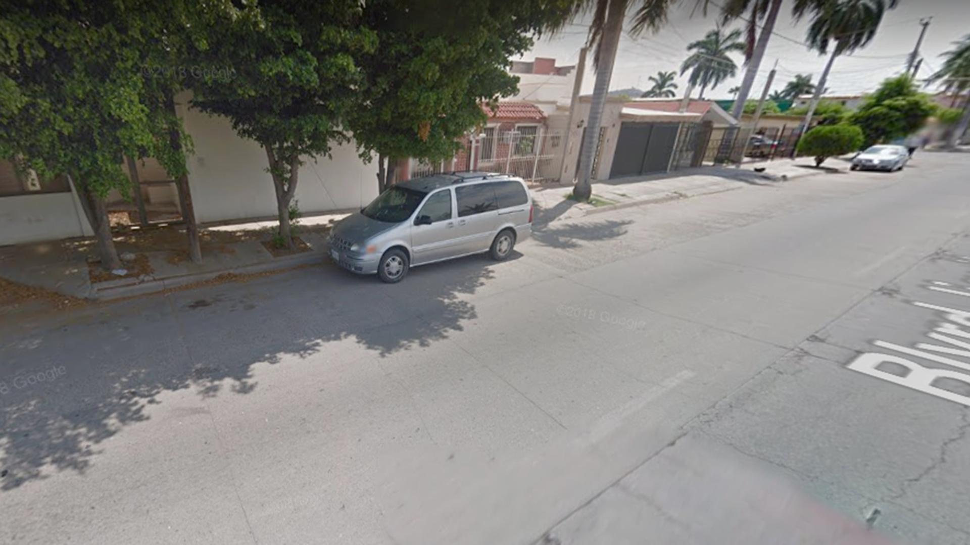 La zona donde está ubicado el último refugio del capo en México (Foto: Google maps)