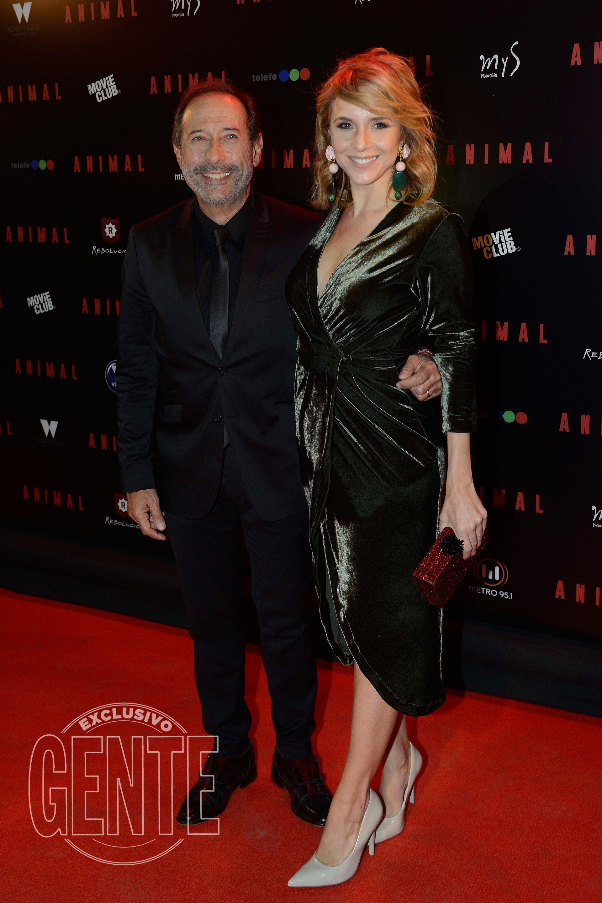Guillermo Francella y Carla Peterson (Foto Francisco Trombeta/GENTE)