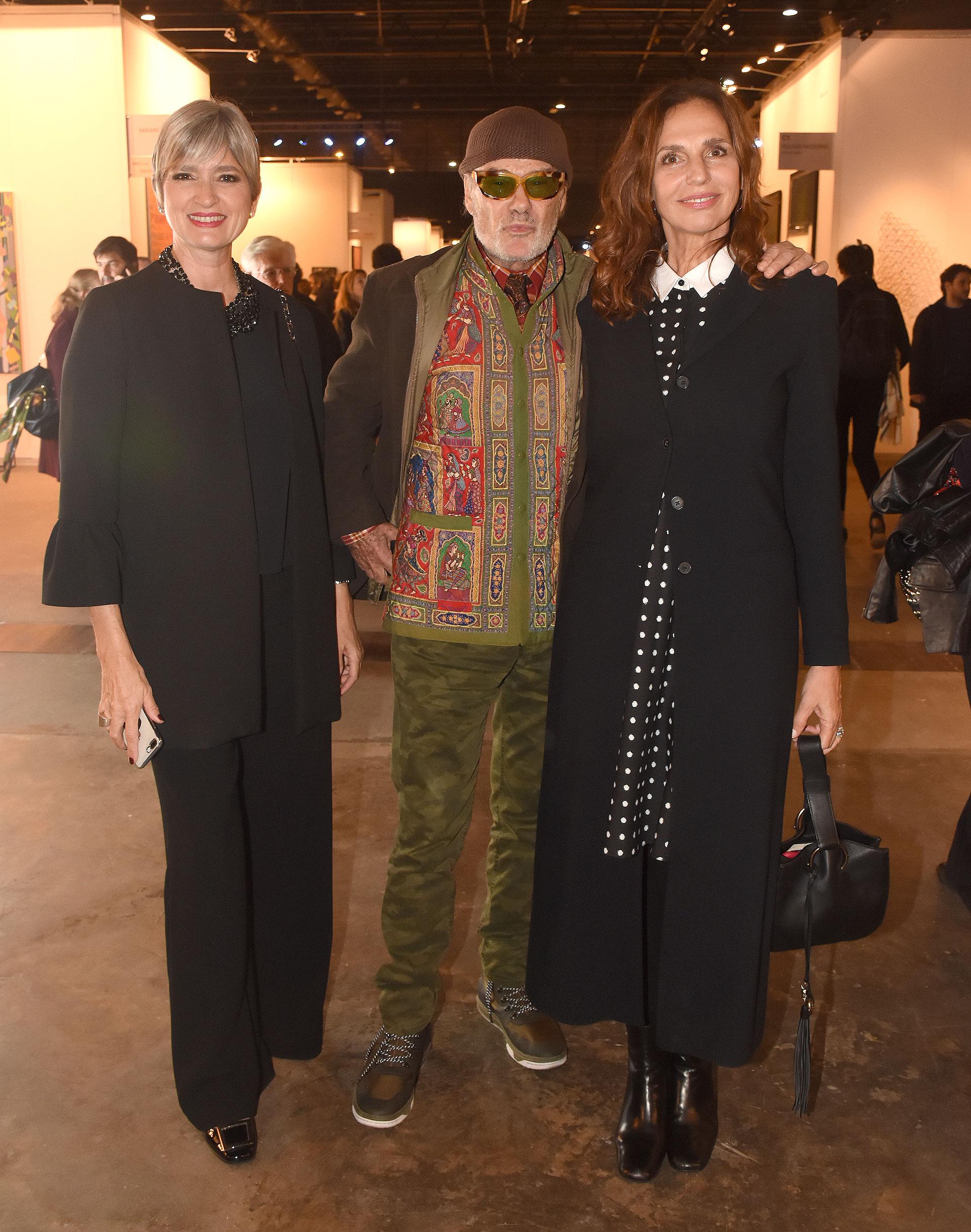 Teresa Garbesi, Gino Bogani y Ginette Reynal