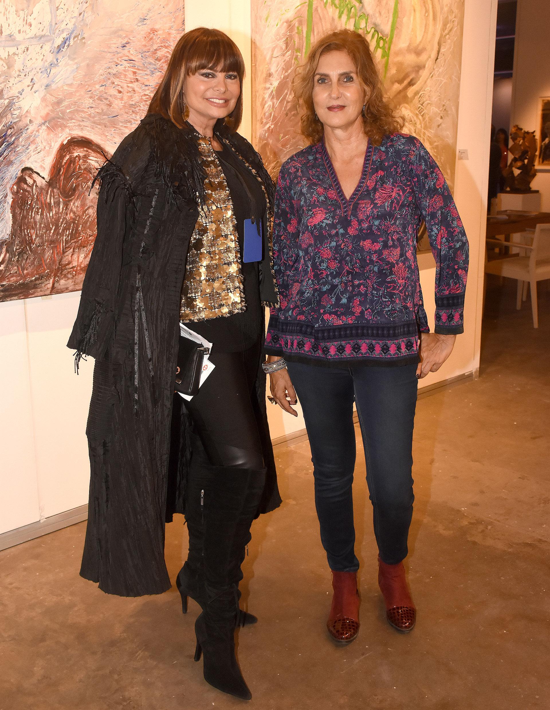 Lucía Miranda y Susana Milano
