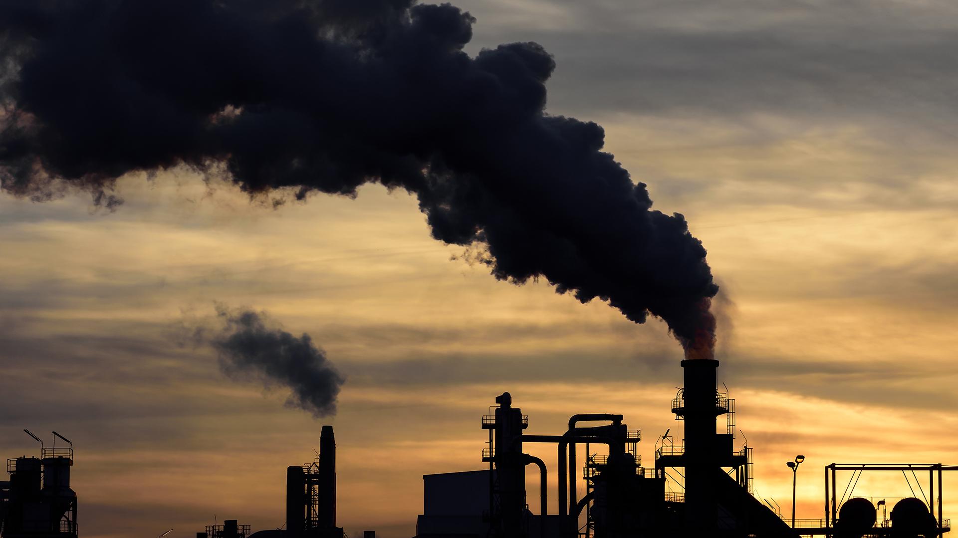 El CO2 es, uno de los principales causantes de la contaminación en el planeta (Getty)