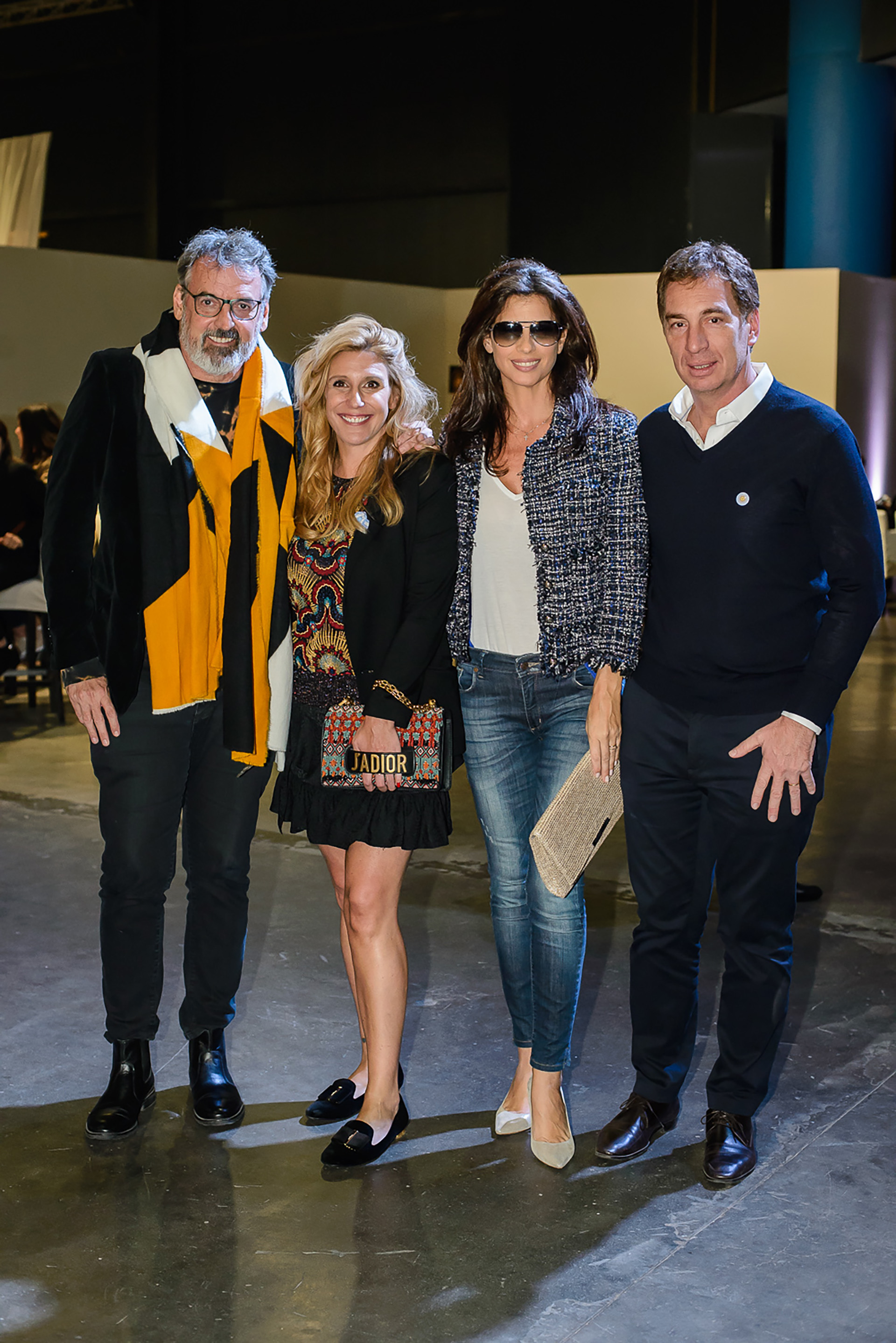 Benito Fernández, Amalia Amoedo, Analía Maiorana y Diego Santilli