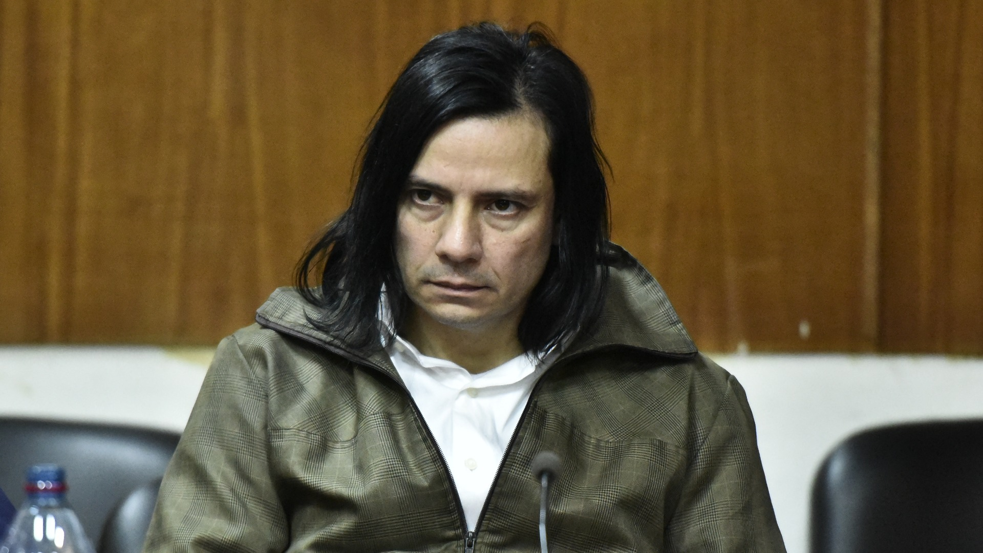 Cristian Aldana estuvo cinco meses en huelga de hambre (Fotos Adrián Escandar)