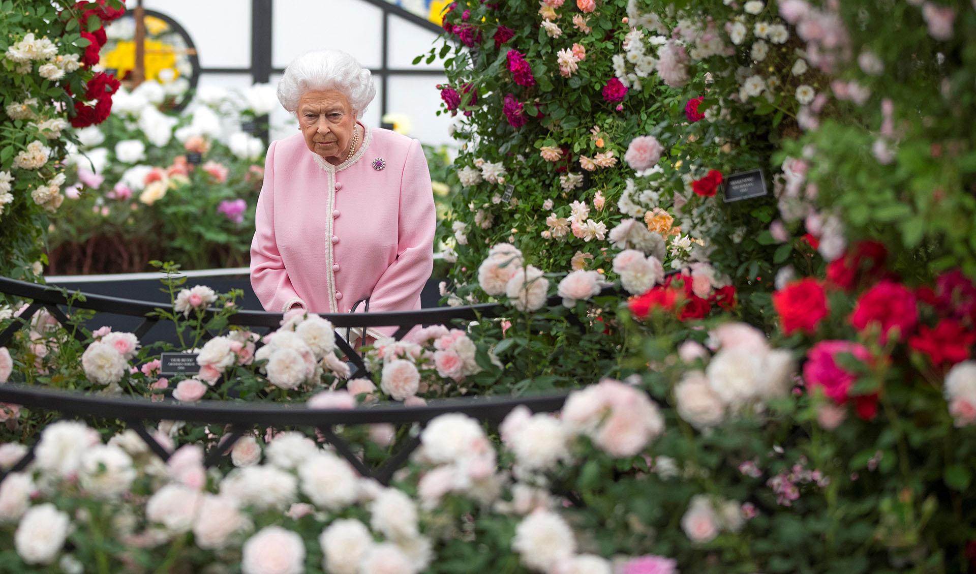 A los 90 años y desde su coronación, ocurrida en 1953, la monarca supo construir e imponer un estilo propio con el que cautiva en cada aparición pública /// Fotos: AFP