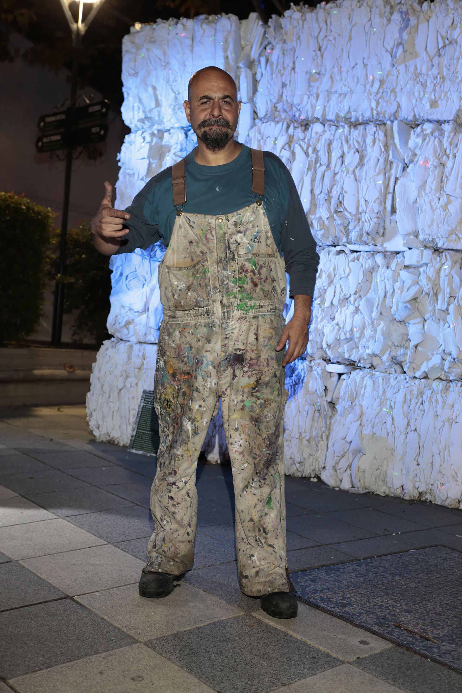 El artista plástico Alfredo Segatori