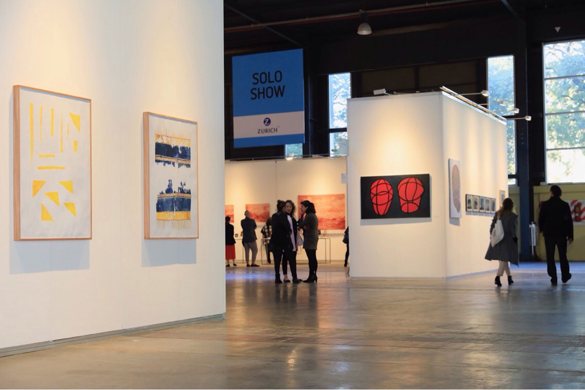 Un caos ordenado. Así se puede percibir el espacio con la nueva propuesta de Solo Show Zurich en arteBA 2018.