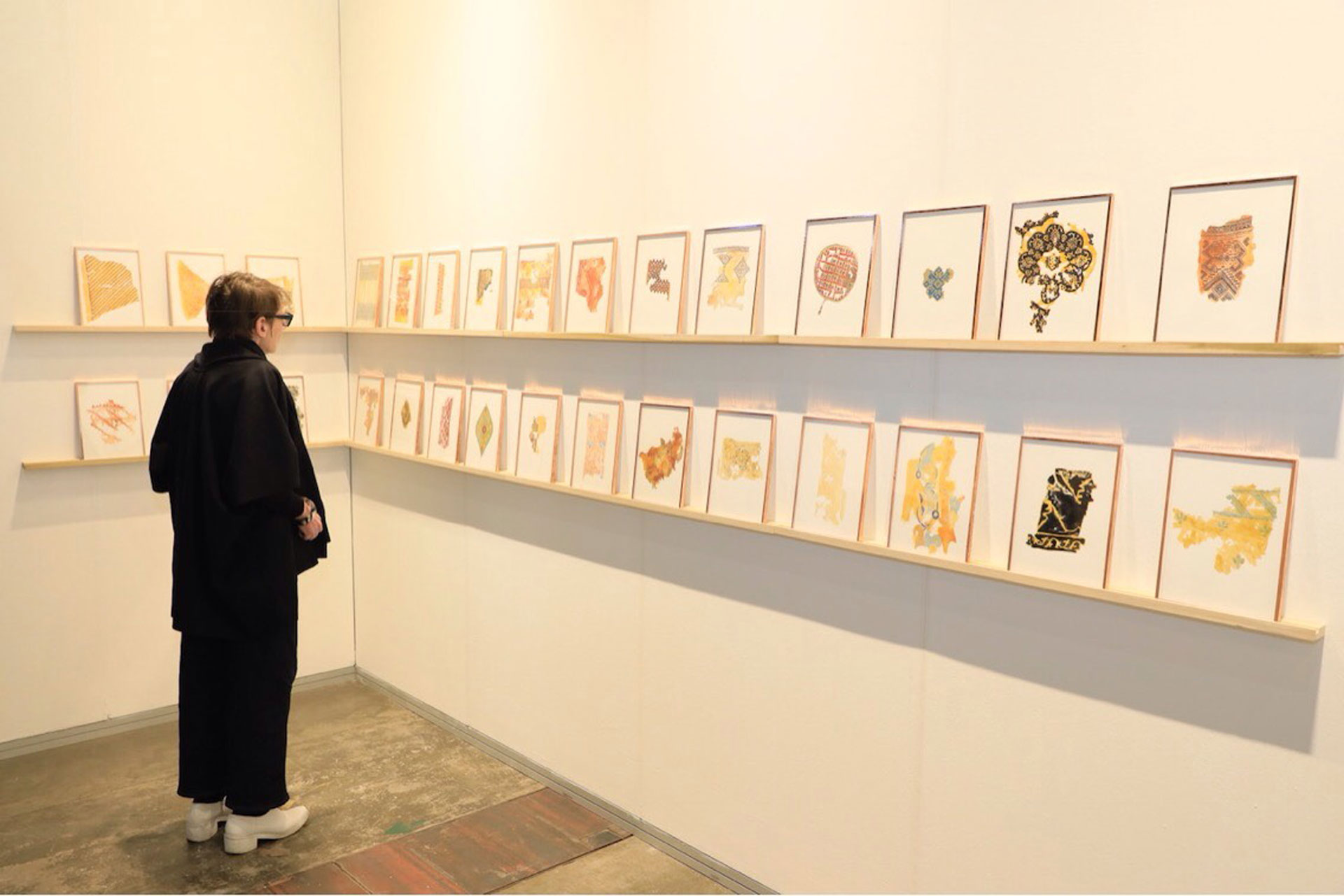 Gala Porras-Kim (Colombia) –Galería Commonwealth and Council, Los Ángeles-