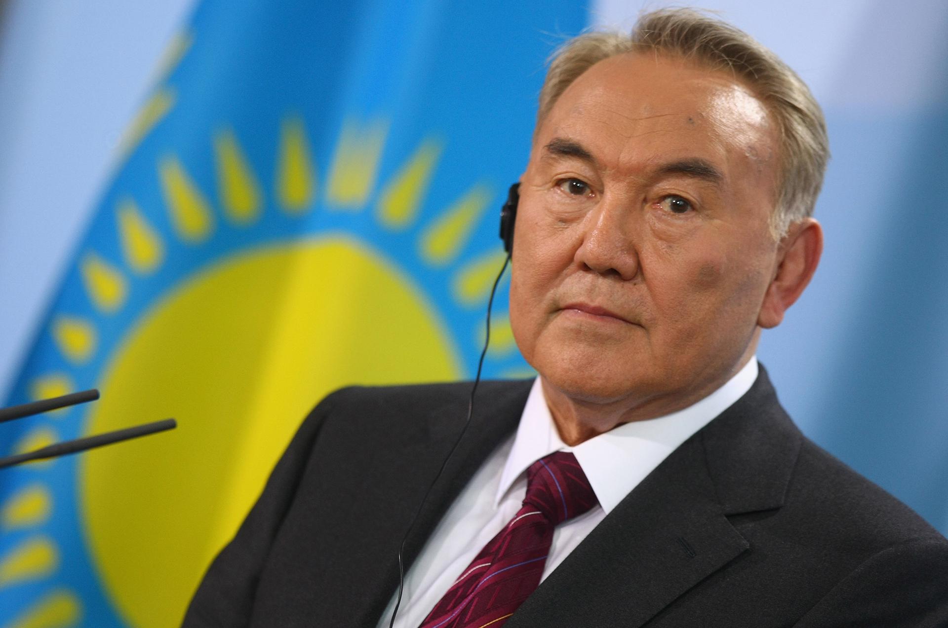 Nazarbayev, de 78 años, se convirtió en presidente del Kazajistán independiente en 1991. Pero ya era mandatario de la república soviética desde 1989