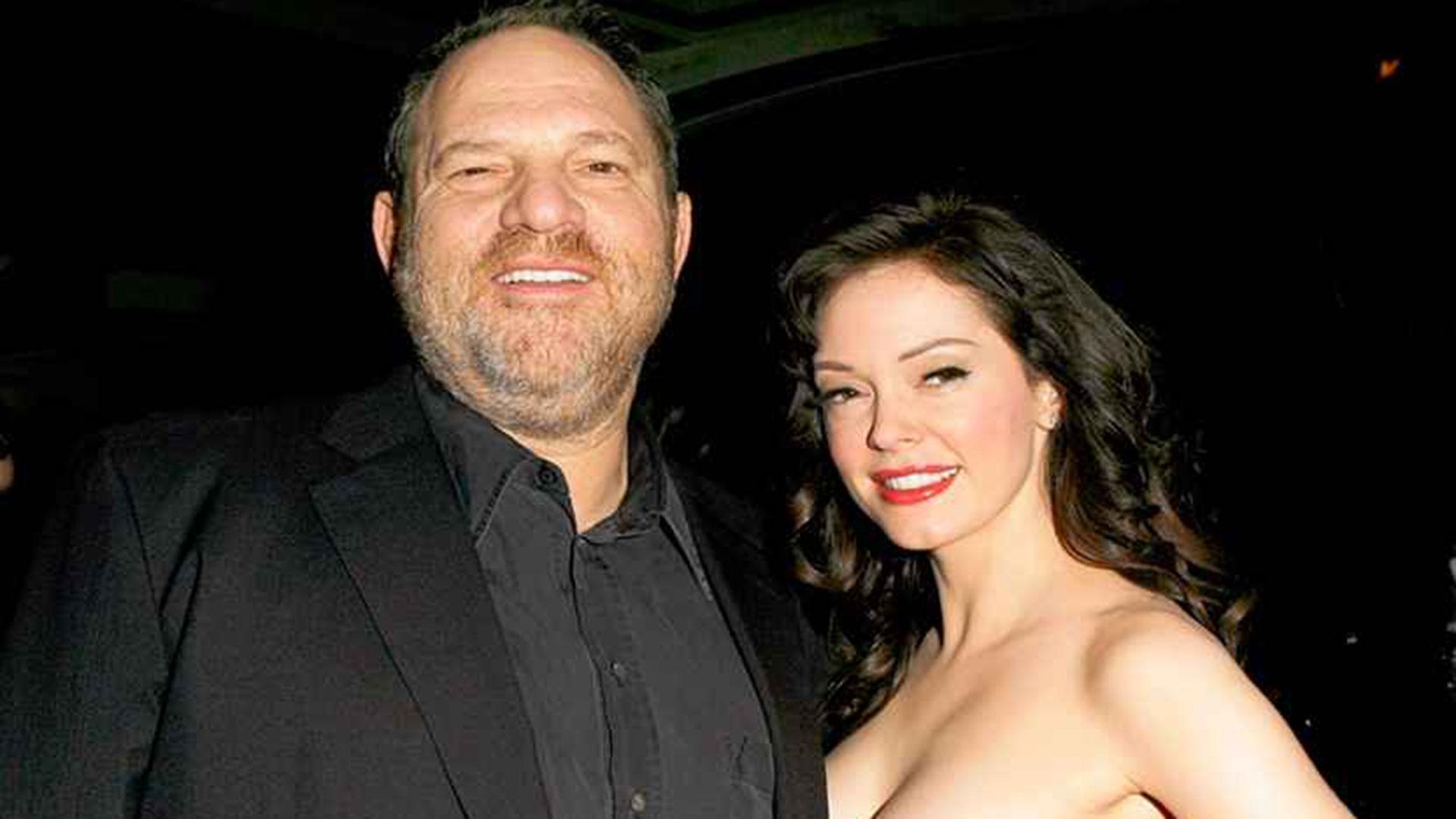 Rose McGowan denunció públicamente que Weinstein la violó