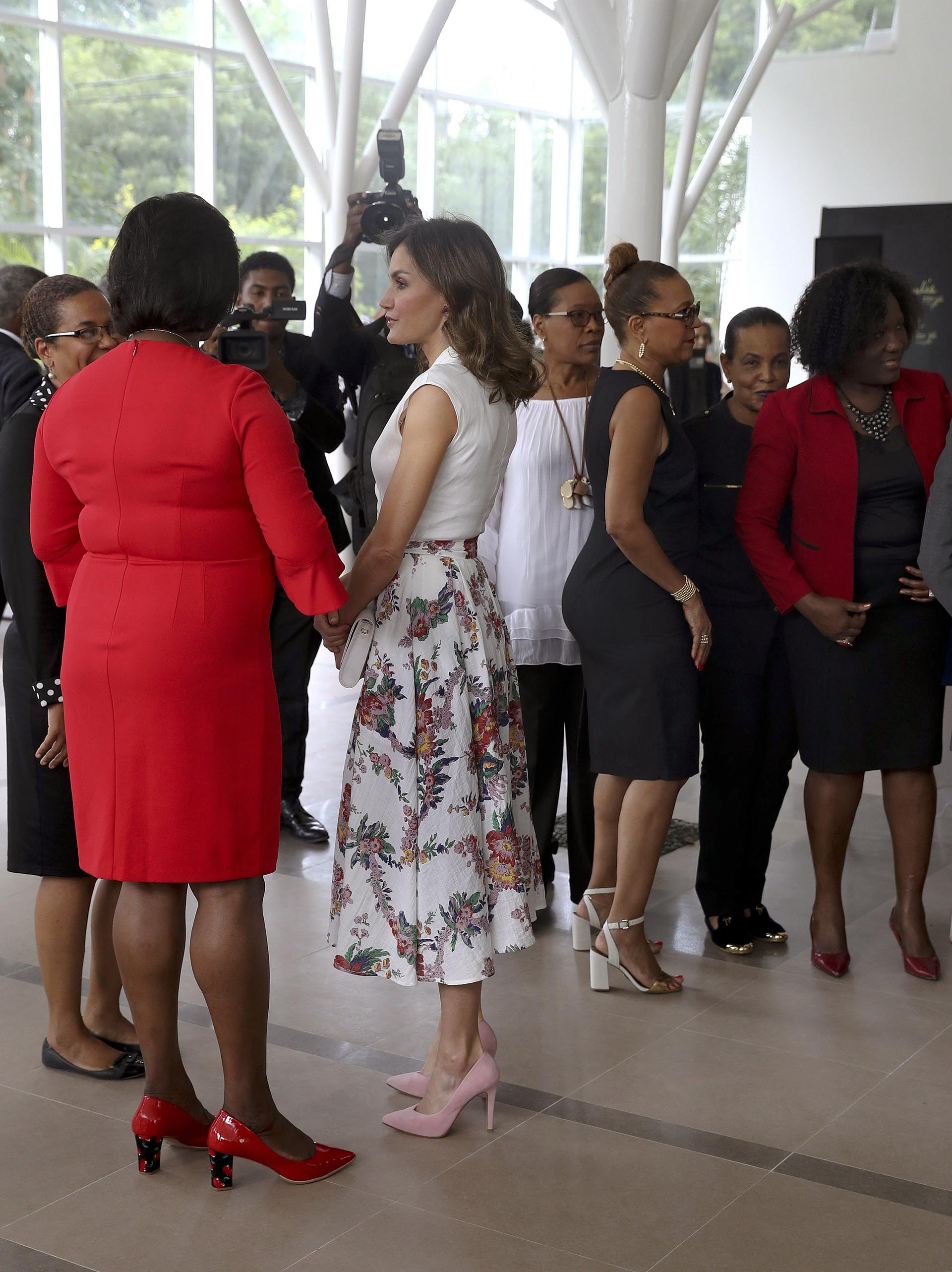 La gira por República Dominicana y Haití fue el tercer viaje de cooperación de Letizia desde que es reina, después de que visitara Honduras y El Salvador en mayo de 2015 y Senegal, en diciembre del año pasado /// EFE – Reuters