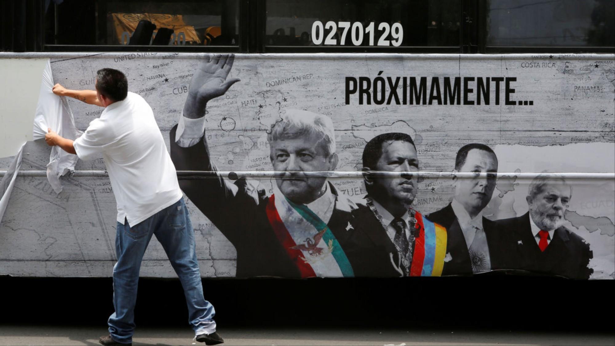 La serie se estrenó en junio de 2018, días antes de la elección presidencial (Foto: Archivo)