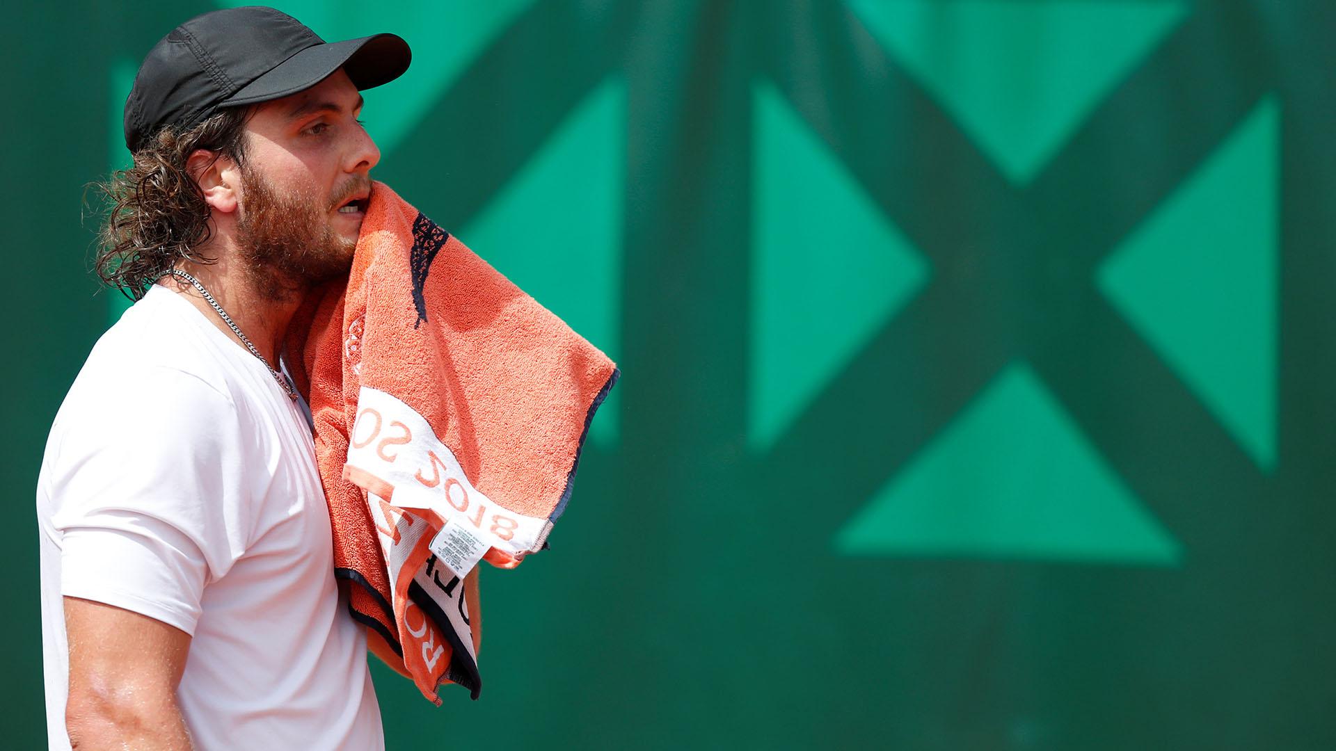 El nacido en Santiago del Estero había ganado en el debut (Reuters)