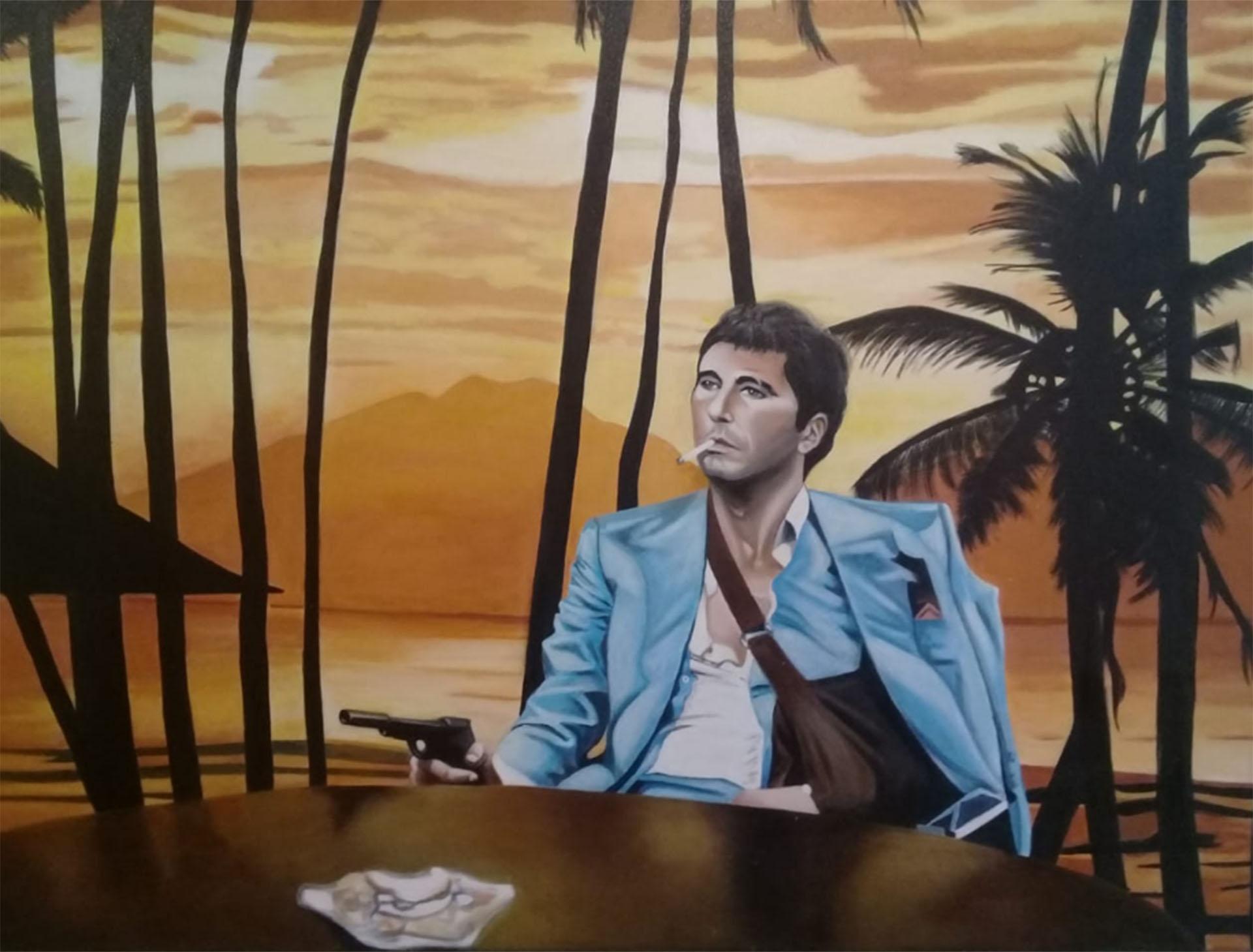 El mural de Scarface