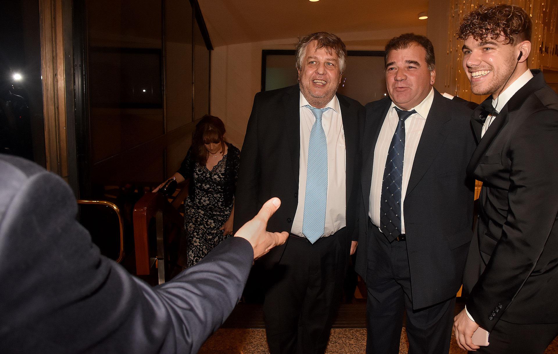 El fiscal Carlos Stornelli y Juan Francisco Cañellas
