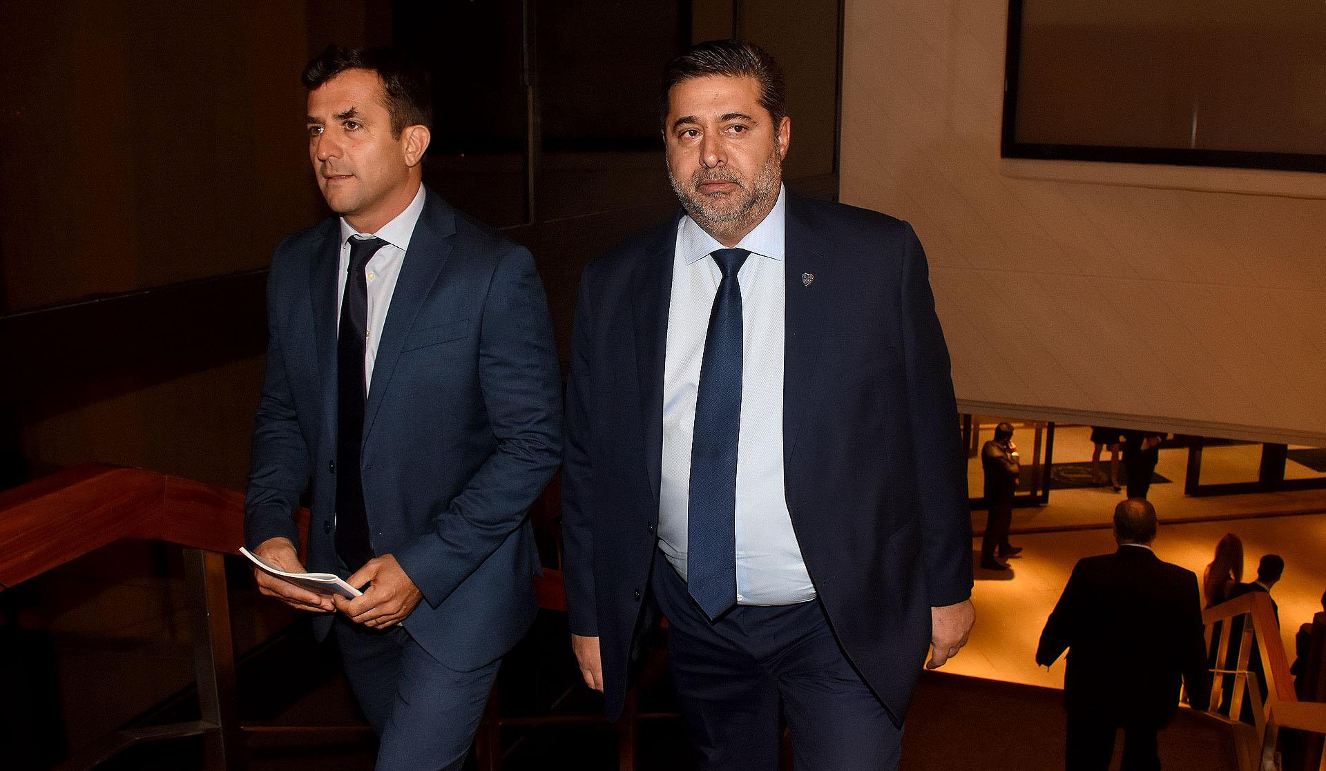 El presidente de Boca, Daniel Angelici