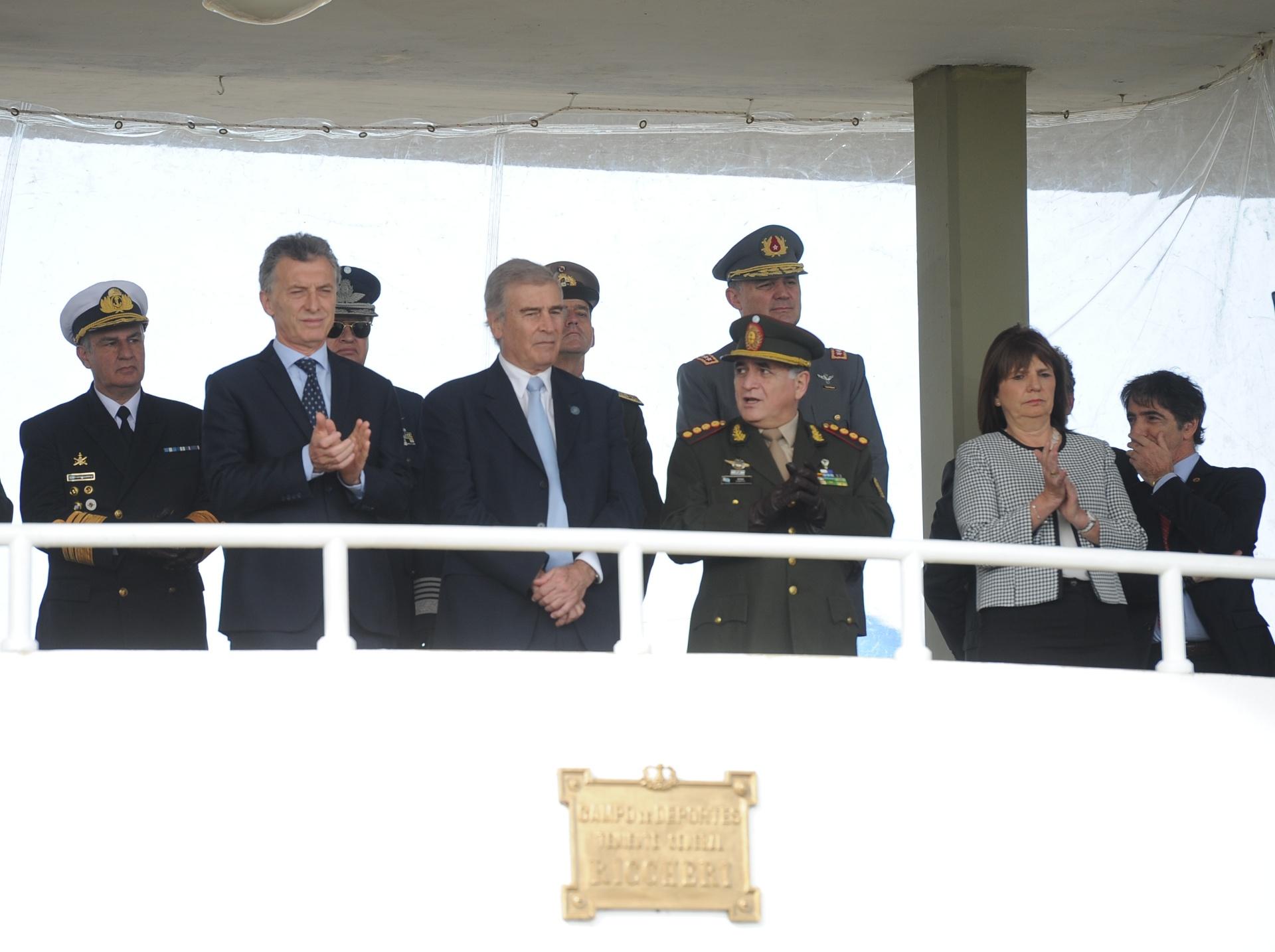 Macri encabezó el acto por el Día del Ejército Argentino