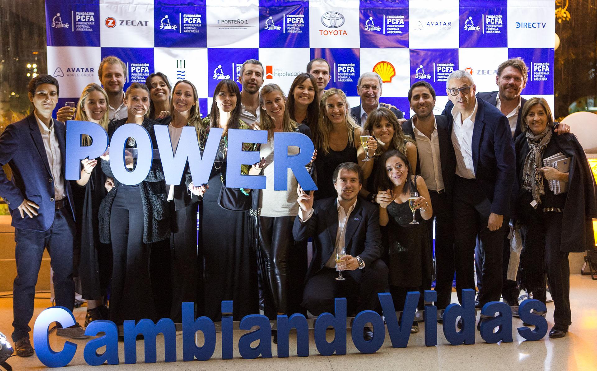 La gran cena de la Fundación Powerchair Football Argentina