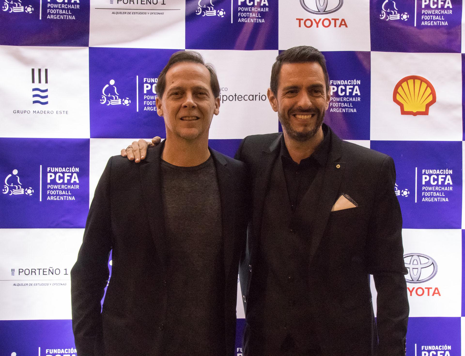 Matías Martin y Pablo Giralt