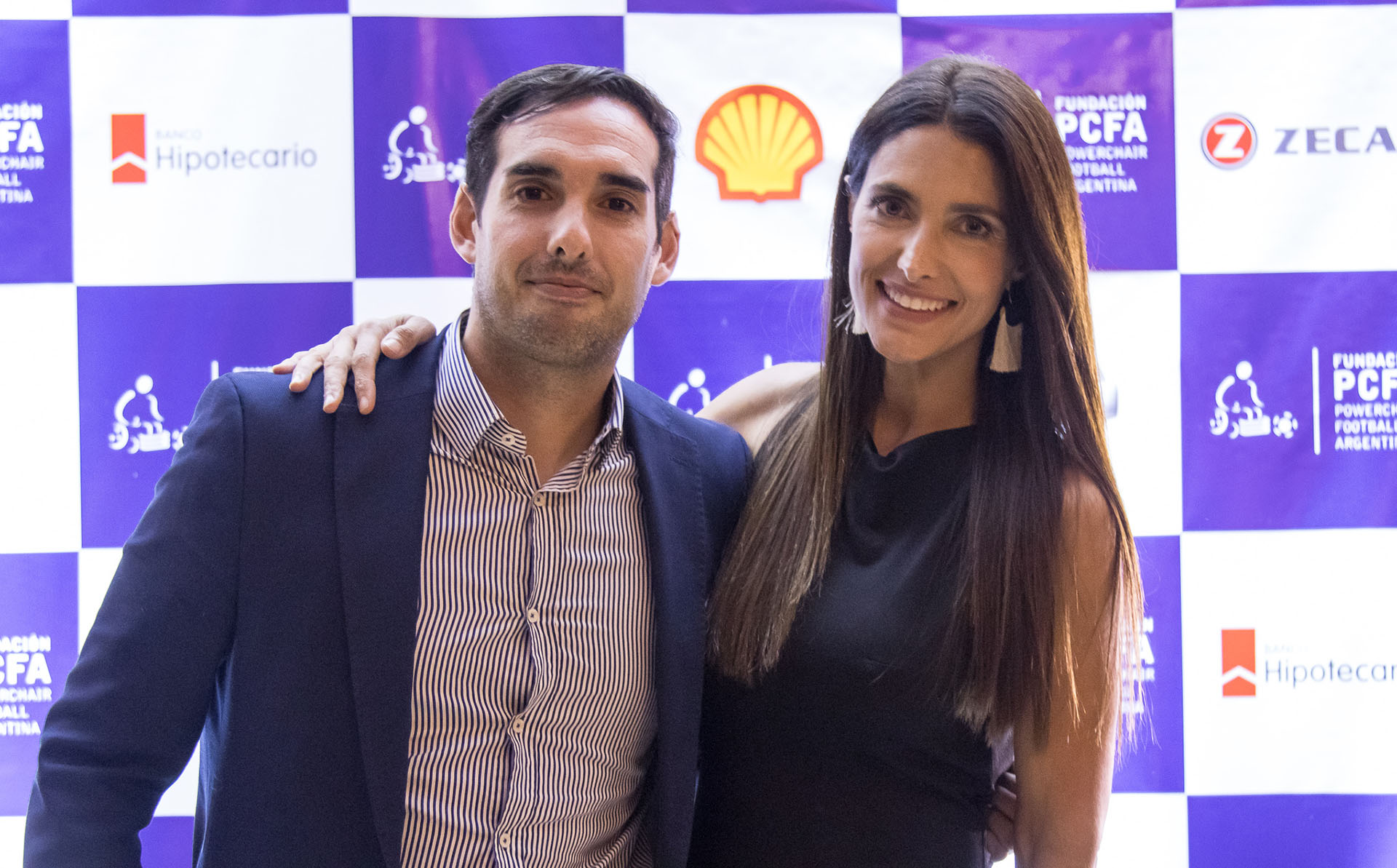 Pablo González y Alejandra Martínez /// Fotos: GentilezaFundación Powerchair Football Argentina