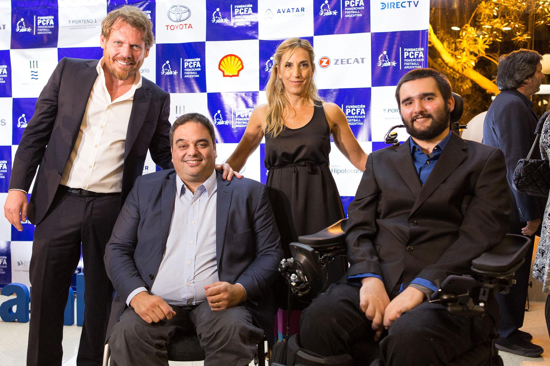 En esta 4ta Cena Solidaria, participaron 500 personas y se recaudaron más de $4.6 millones, que serán destinados a desarrollar este deporte en el país