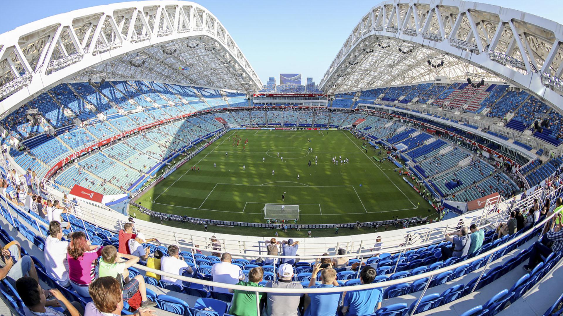 El Mundial comenzará el jueves con el partido inaugural entre Rusia y Arabia Saudita