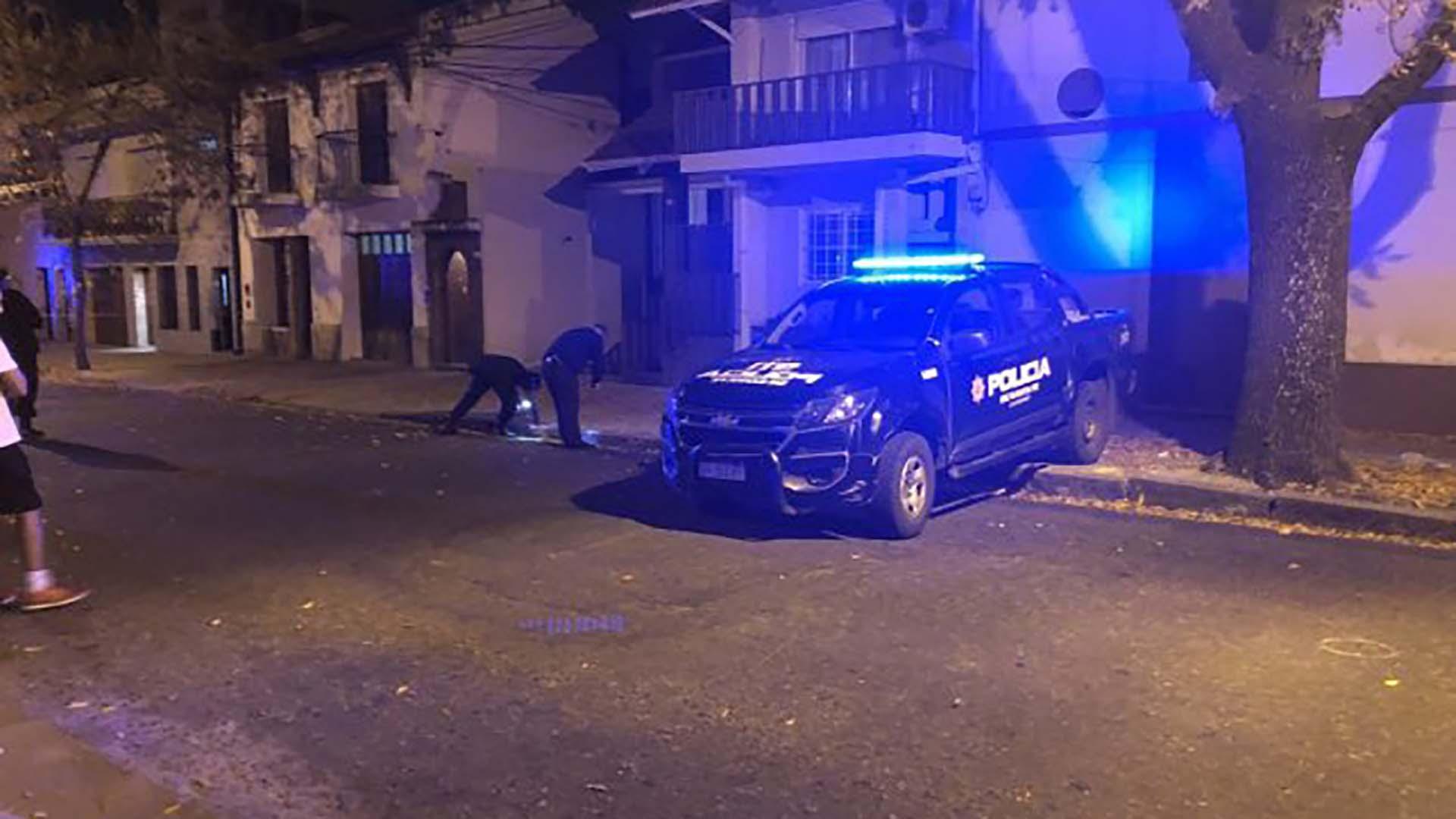 El ataque domicilio donde había residido el juez Ismael Manfrín (Twitter @TomyTassisto)