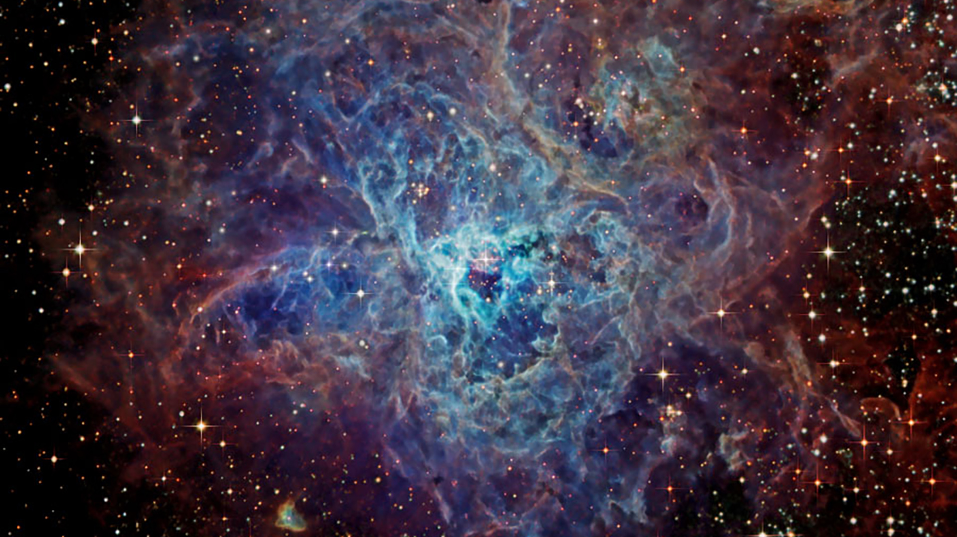La imagen más detallada de la nebulosa de la Tarántula, tomada recientemente